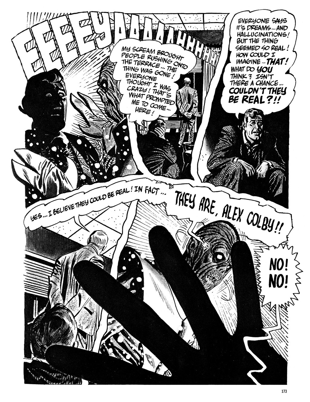 Read online Eerie Archives comic -  Issue # TPB 3 - 174