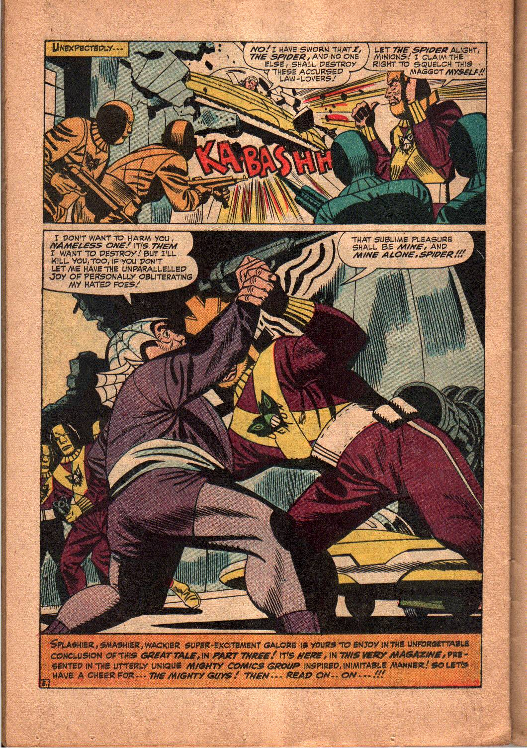 The Mighty Crusaders (1965) Issue #5 #5 - English 20