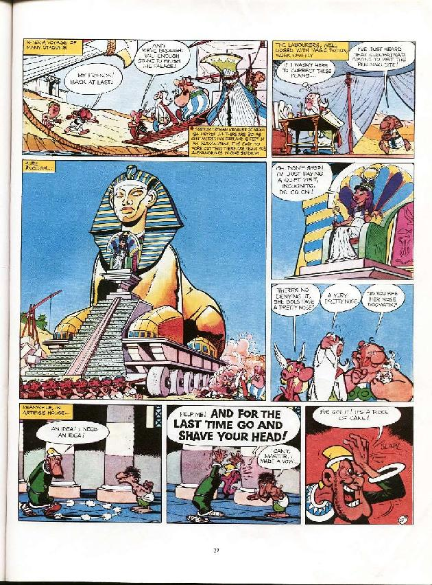 Read online Asterix comic -  Issue #6 - 24