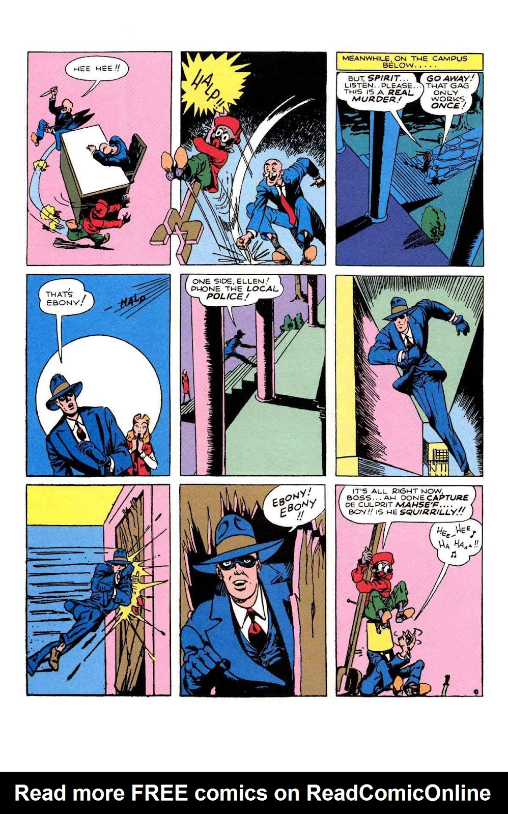 Read online Will Eisner's The Spirit Archives comic -  Issue # TPB 1 (Part 2) - 89