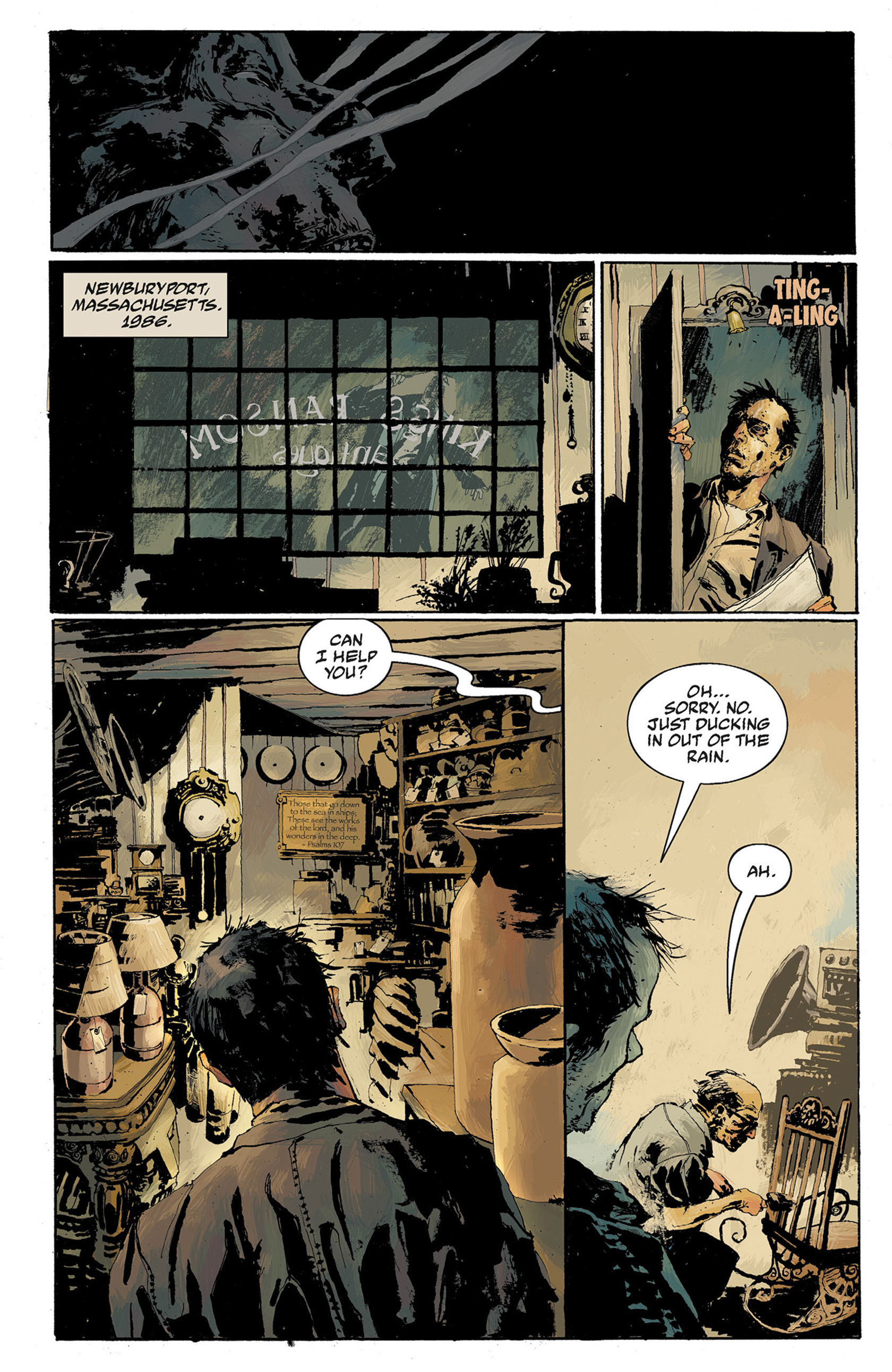 Read online Hellboy: The Crooked Man and Others comic -  Issue # TPB - 84