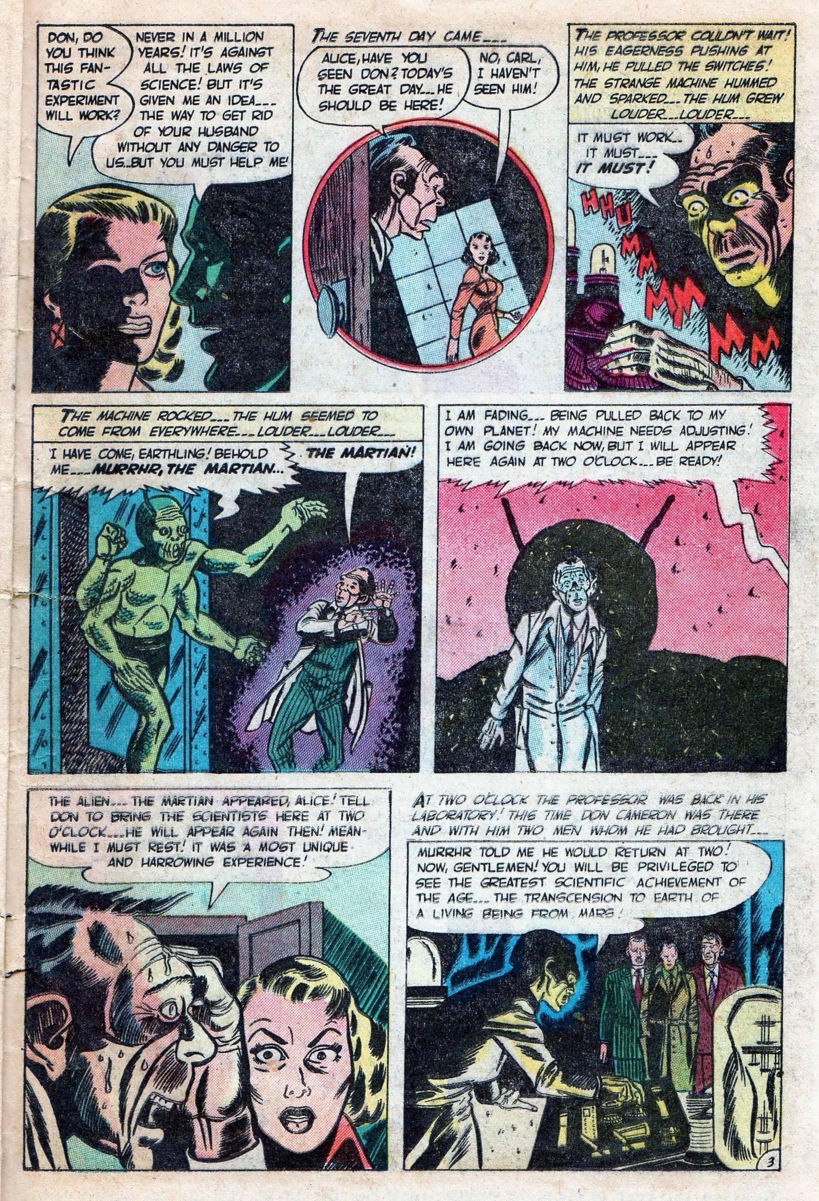 Read online Adventures into Weird Worlds comic -  Issue #11 - 25