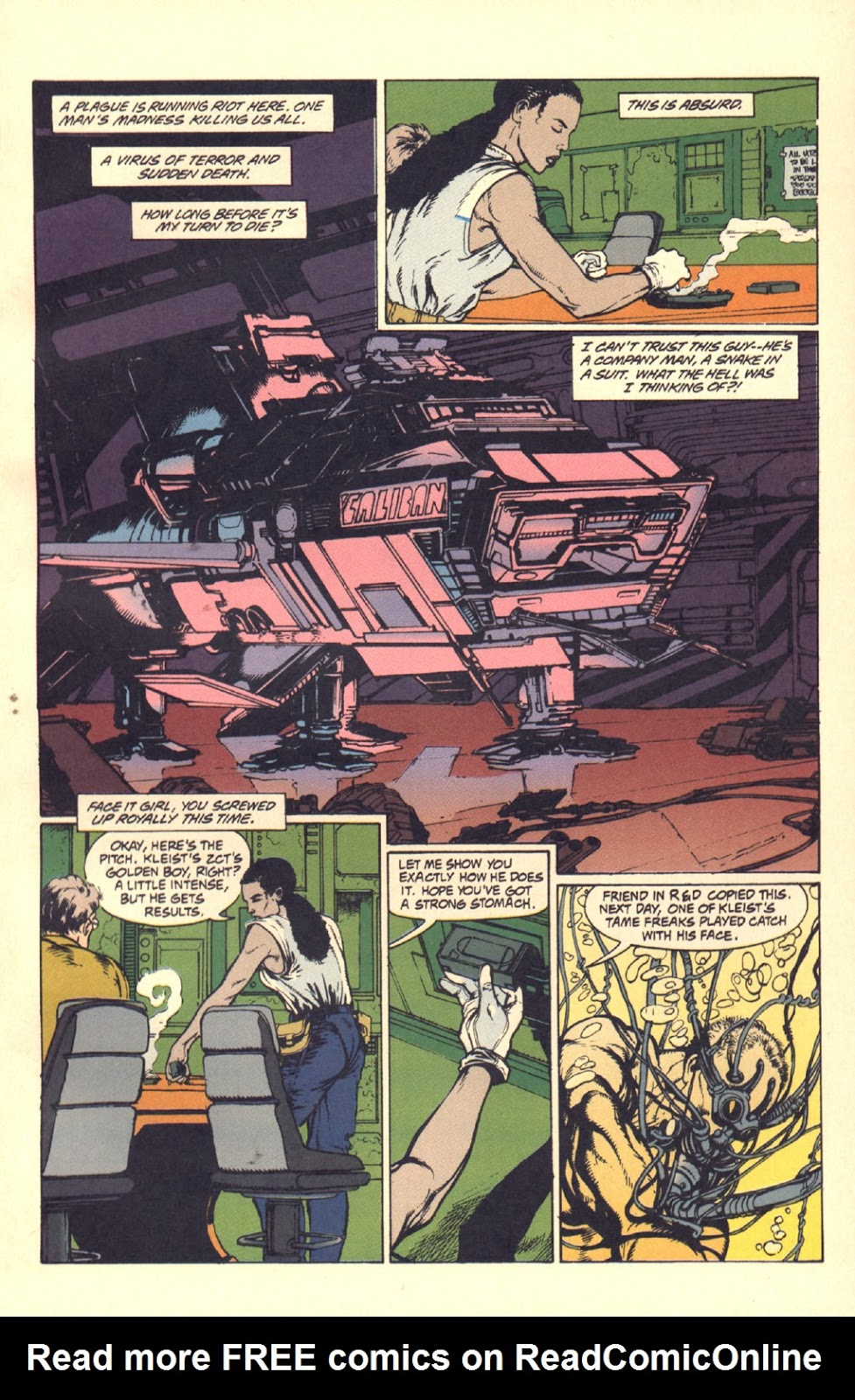 Read online Aliens: Rogue comic -  Issue #2 - 14