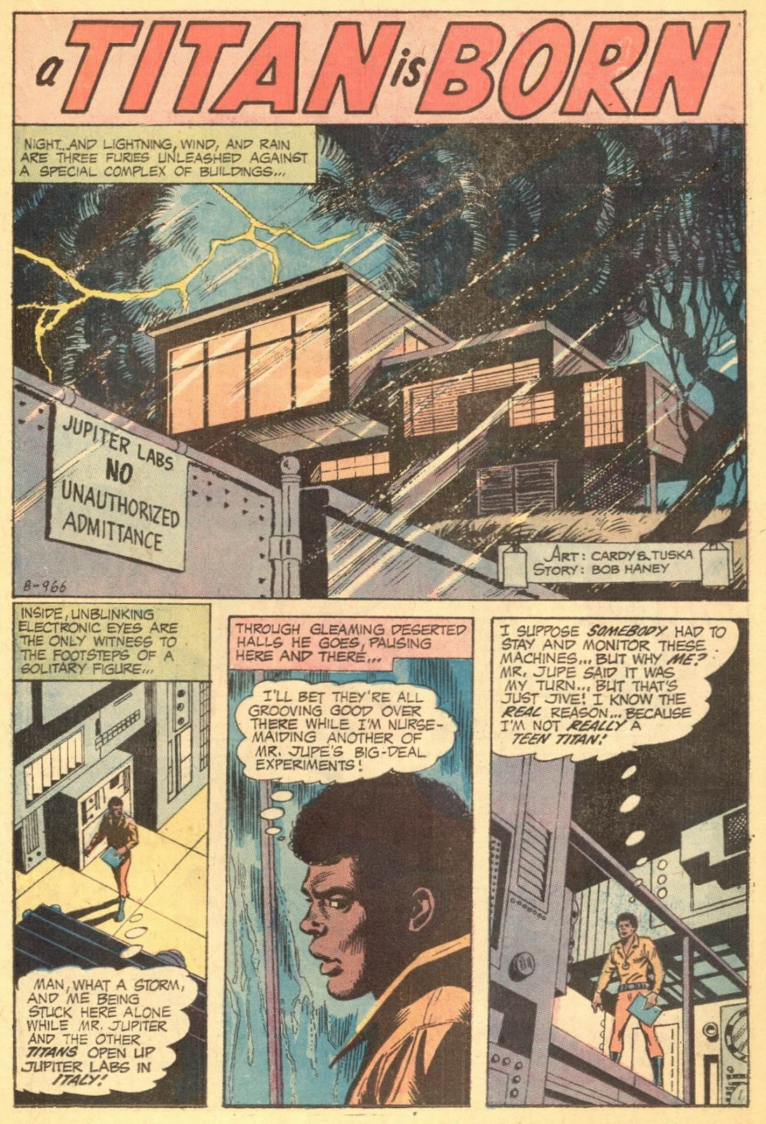 Teen Titans (1966) issue 35 - Page 21