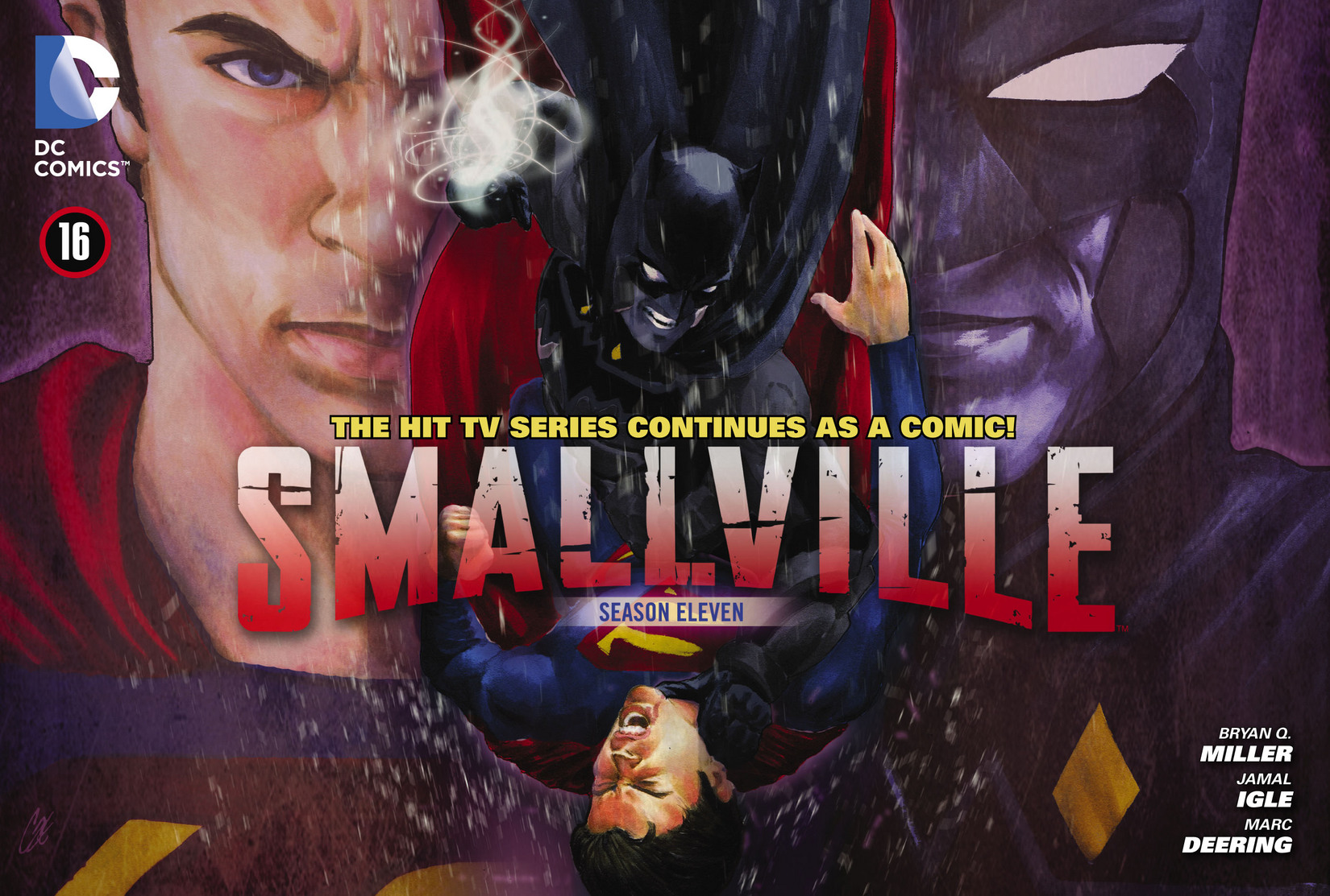 Read online Smallville: Season 11 comic -  Issue #16 - 1