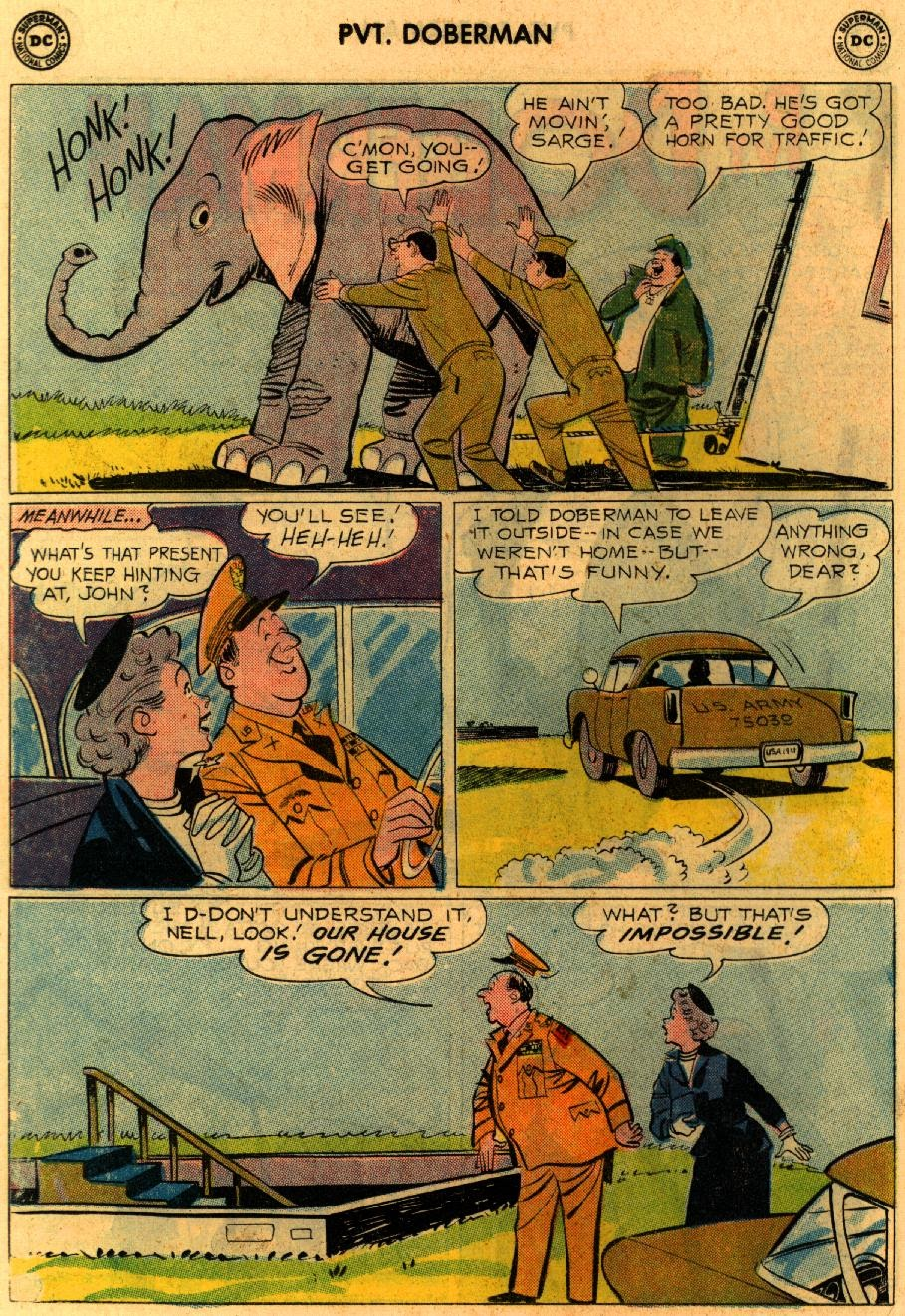 Sgt. Bilko's Pvt. Doberman issue 9 - Page 14