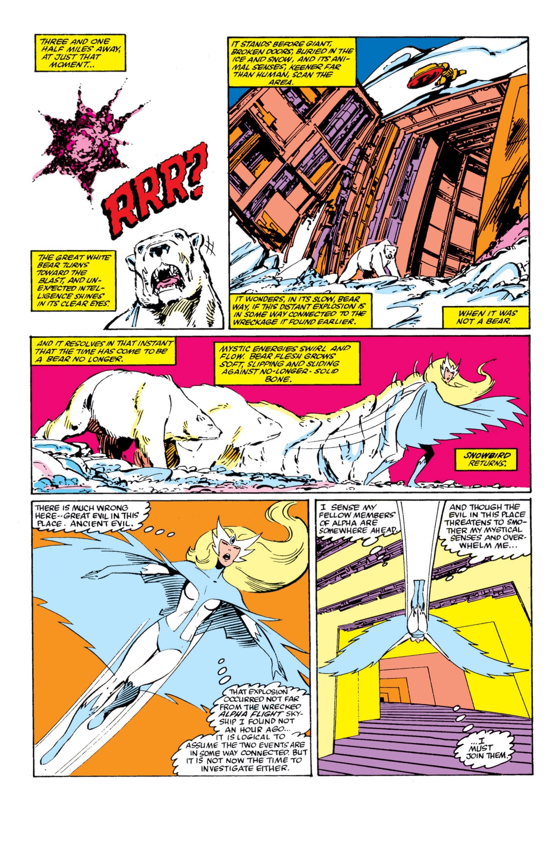 Read online Alpha Flight (1983) comic -  Issue #4 - 5