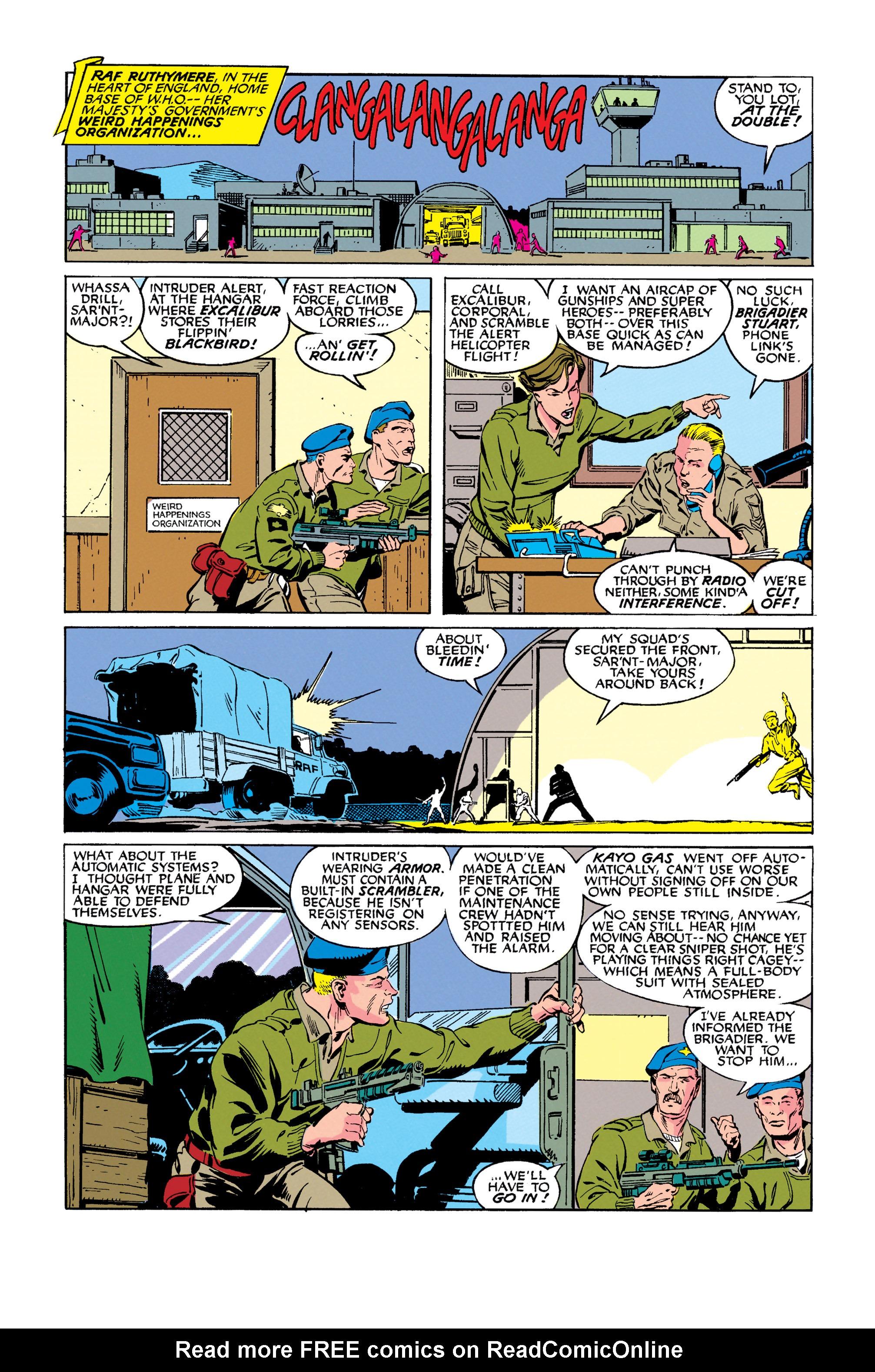 Read online Uncanny X-Men (1963) comic -  Issue #278 - 5