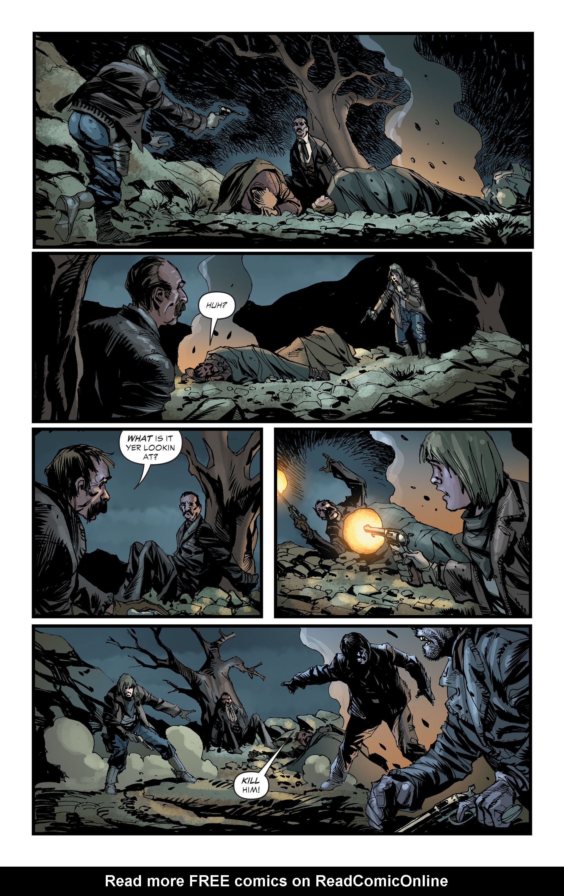 Read online All-Star Western (2011) comic -  Issue #33 - 12