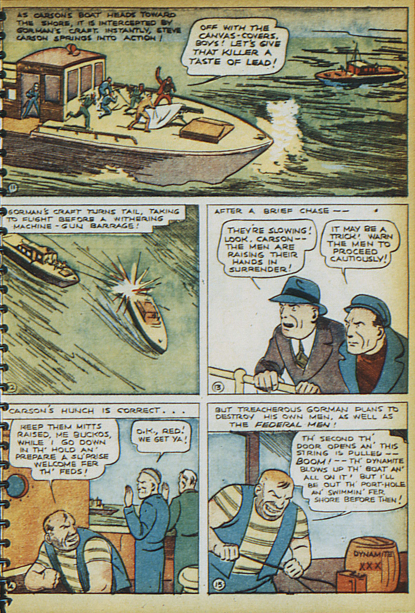 Read online Adventure Comics (1938) comic -  Issue #16 - 6