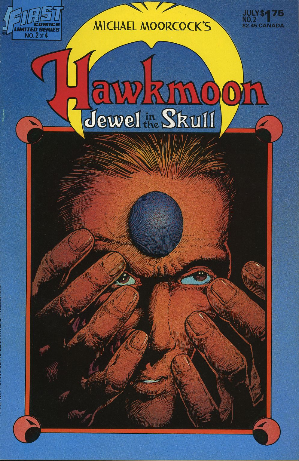 Read online Hawkmoon: The Jewel in the Skull comic -  Issue #2 - 1