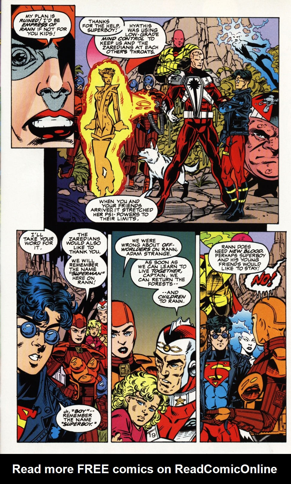 Read online Superboy & The Ravers comic -  Issue #4 - 20