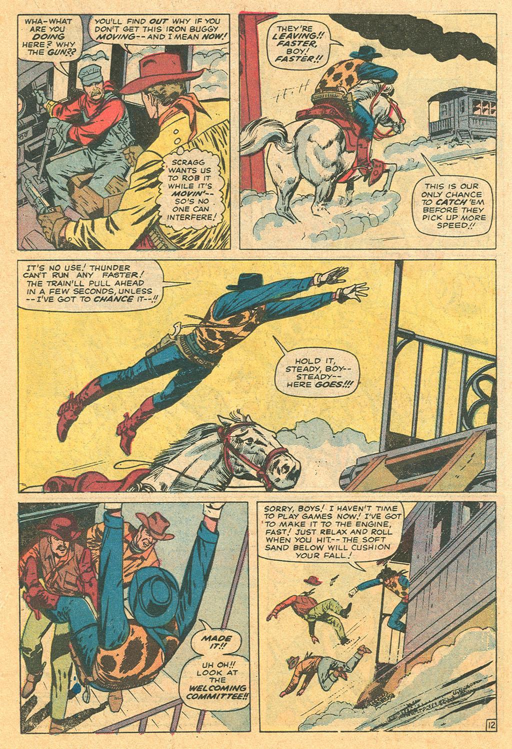 Read online Two-Gun Kid comic -  Issue #110 - 19