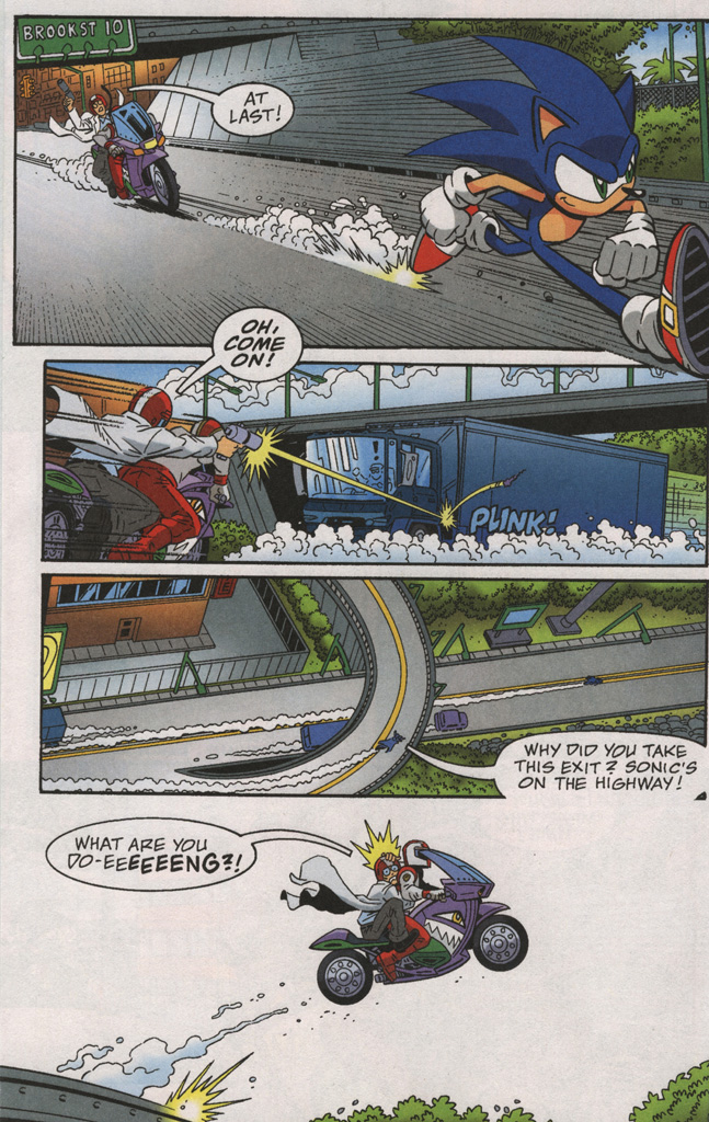 Read online Sonic X comic -  Issue #38 - 16