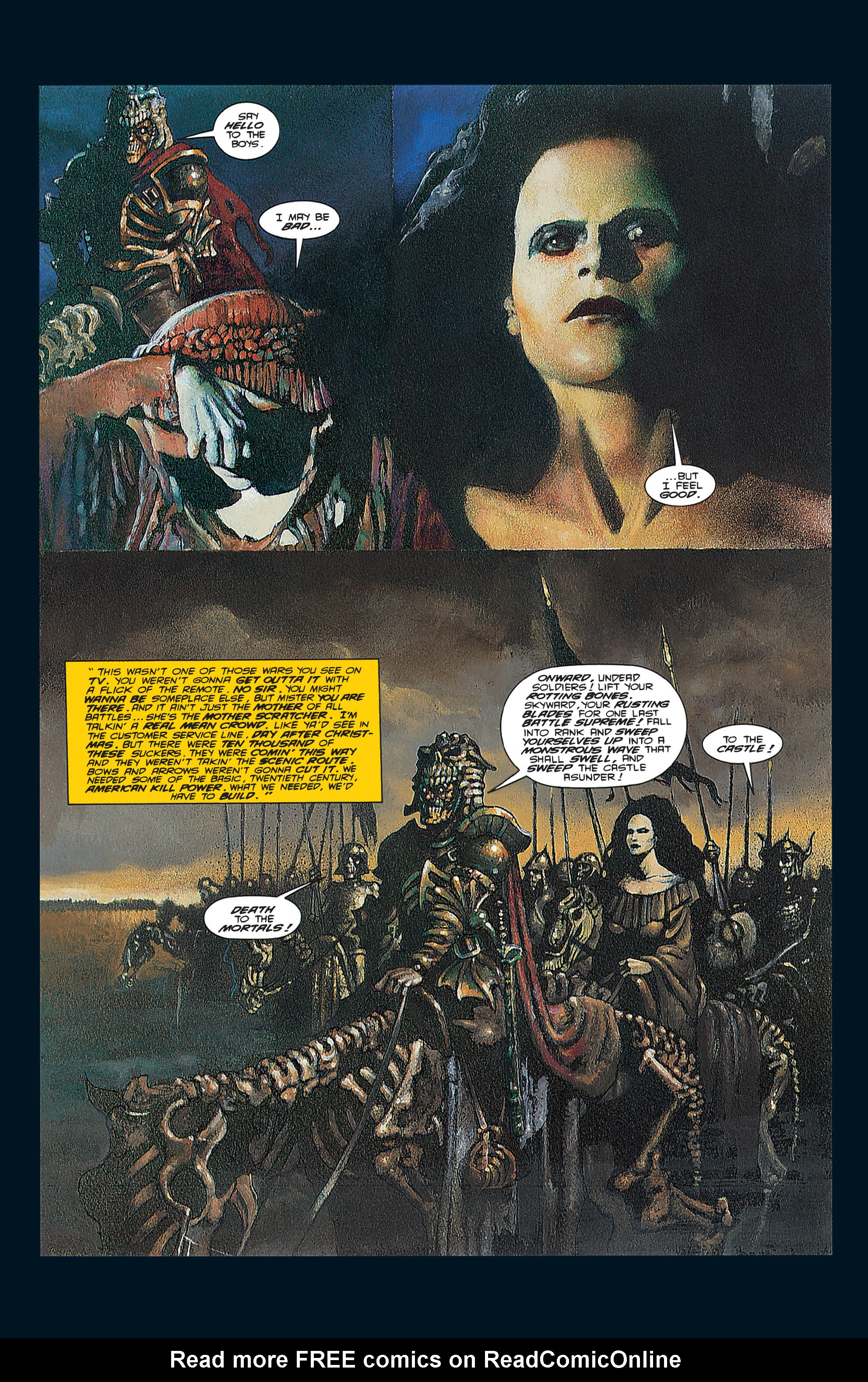 Read online Army of Darkness (1992) comic -  Issue #3 - 10