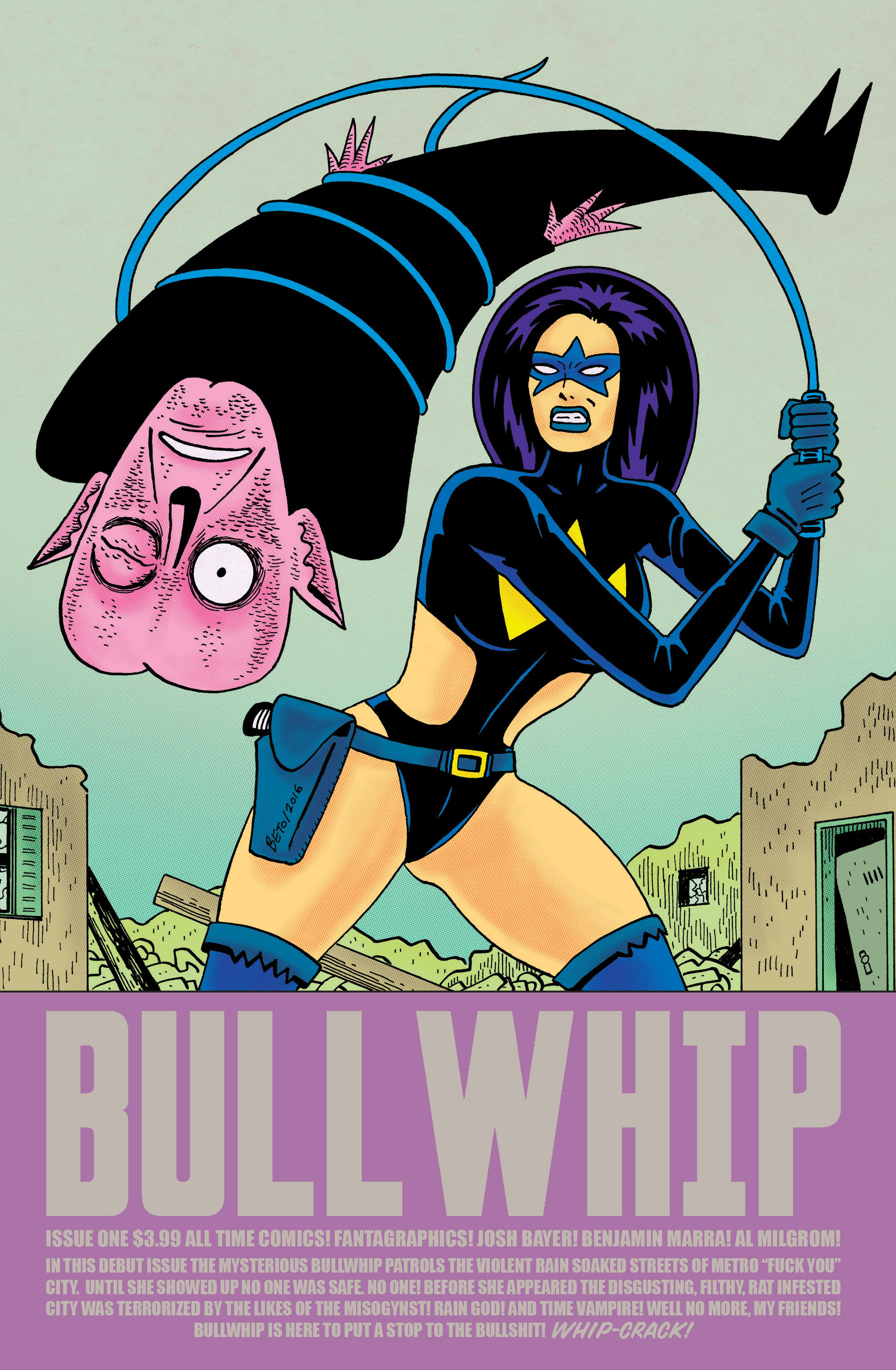All Time Comics: Bullwhip 1 Page 1