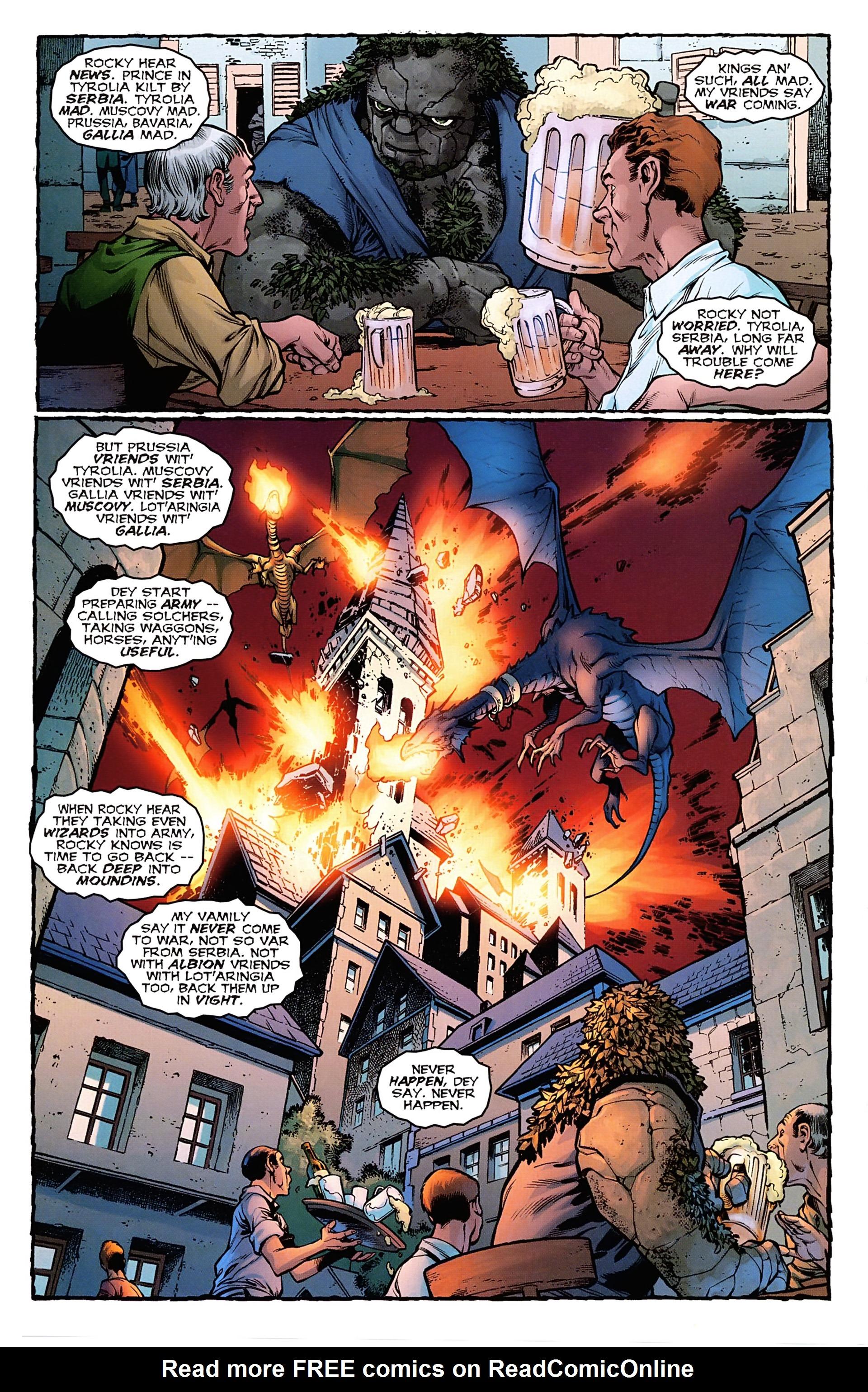 Read online Arrowsmith comic -  Issue #1 - 17