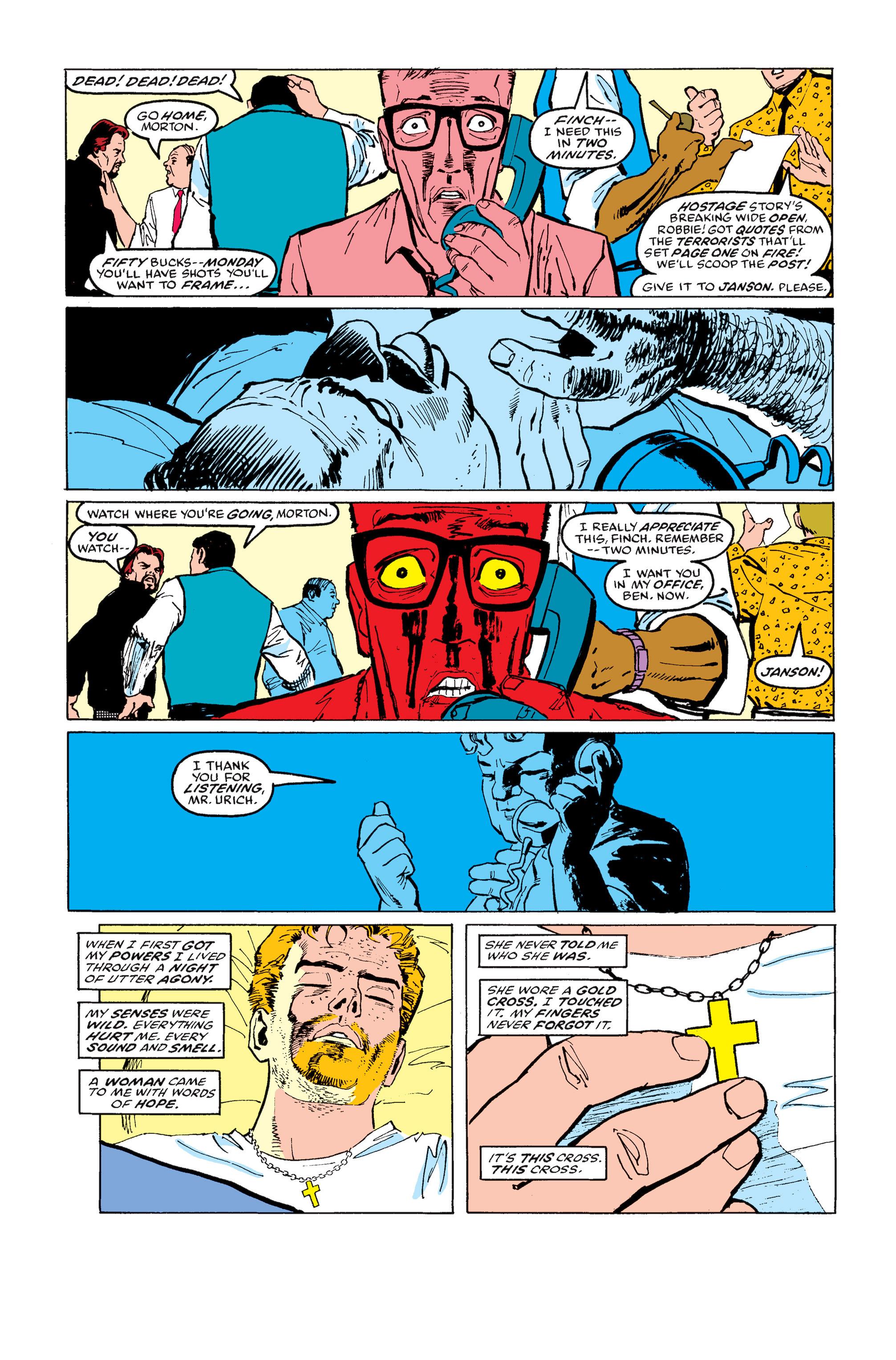 Read online Daredevil: Born Again comic -  Issue # Full - 113