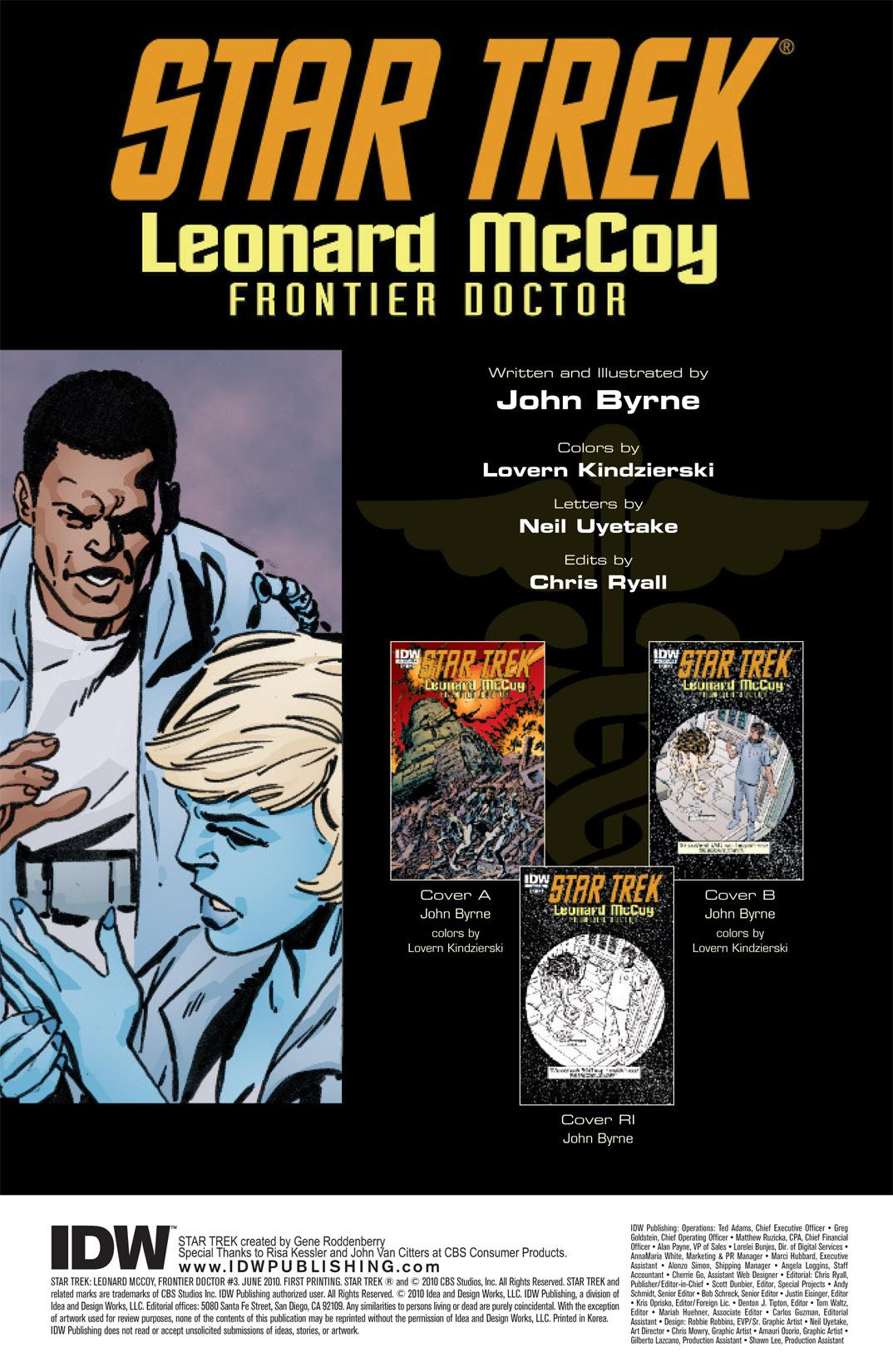 Read online Star Trek: Leonard McCoy, Frontier Doctor comic -  Issue #3 - 4