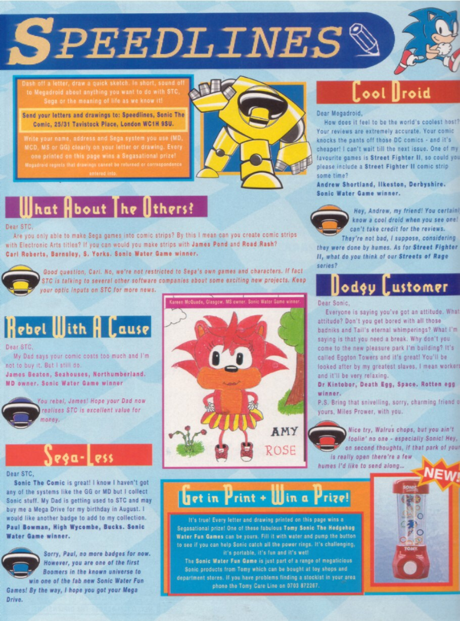 Read online Sonic the Comic comic -  Issue #8 - 31