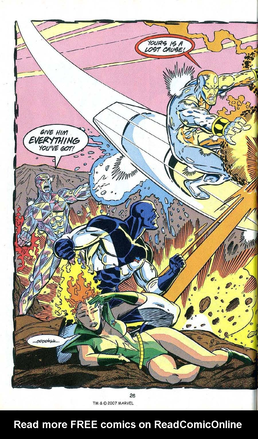 Read online Silver Surfer (1987) comic -  Issue # _Annual 4 - 28