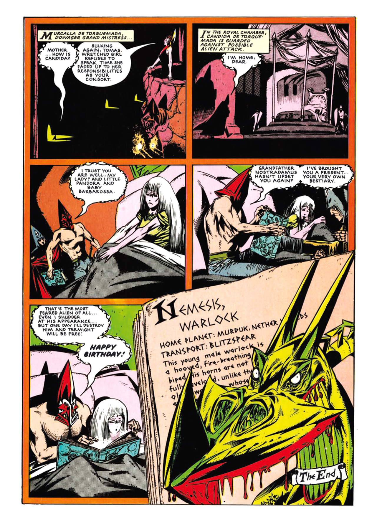 Read online Nemesis The Warlock comic -  Issue # TPB Deviant Edition - 99
