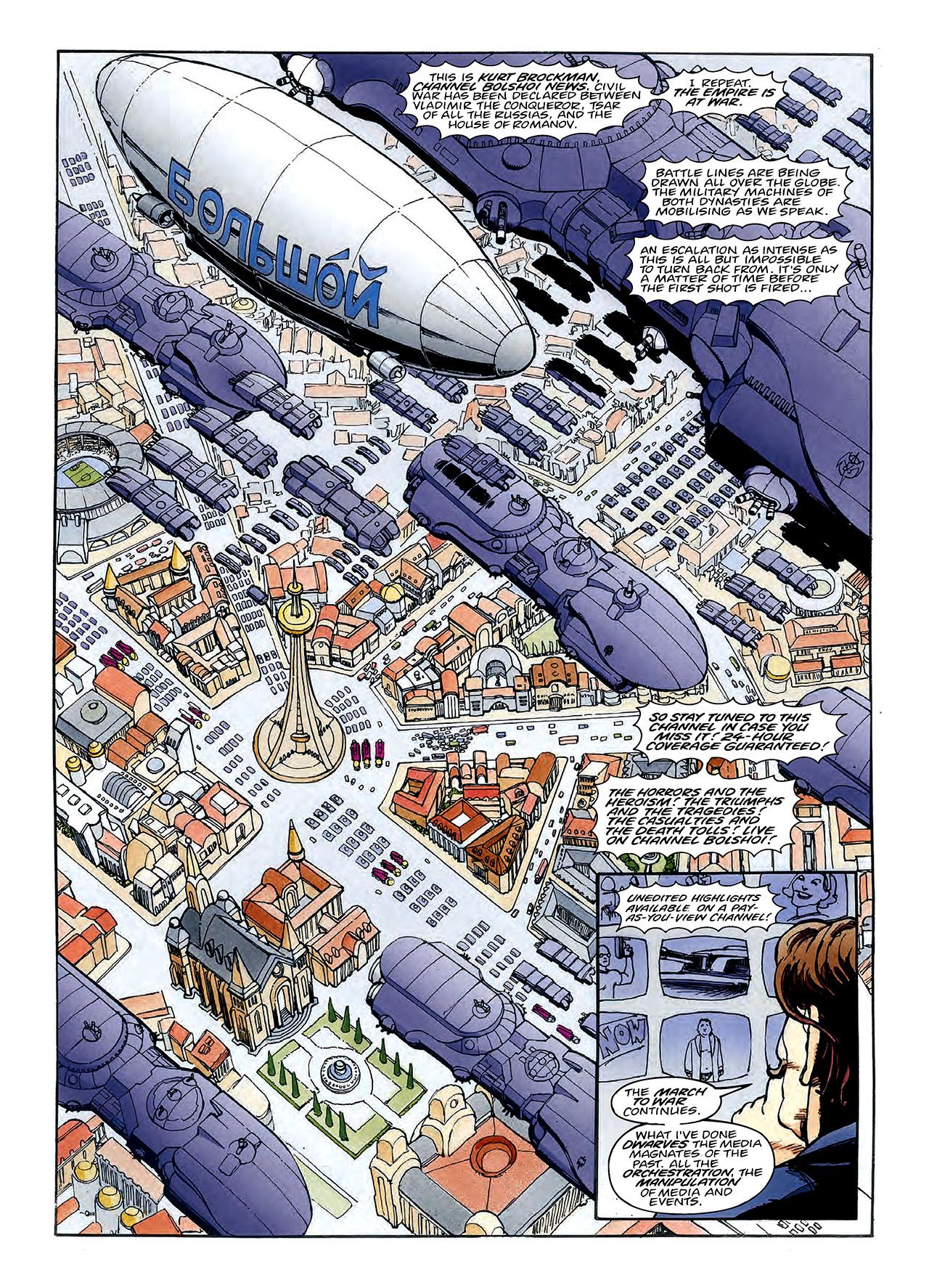 Read online Nikolai Dante comic -  Issue # TPB 3 - 100
