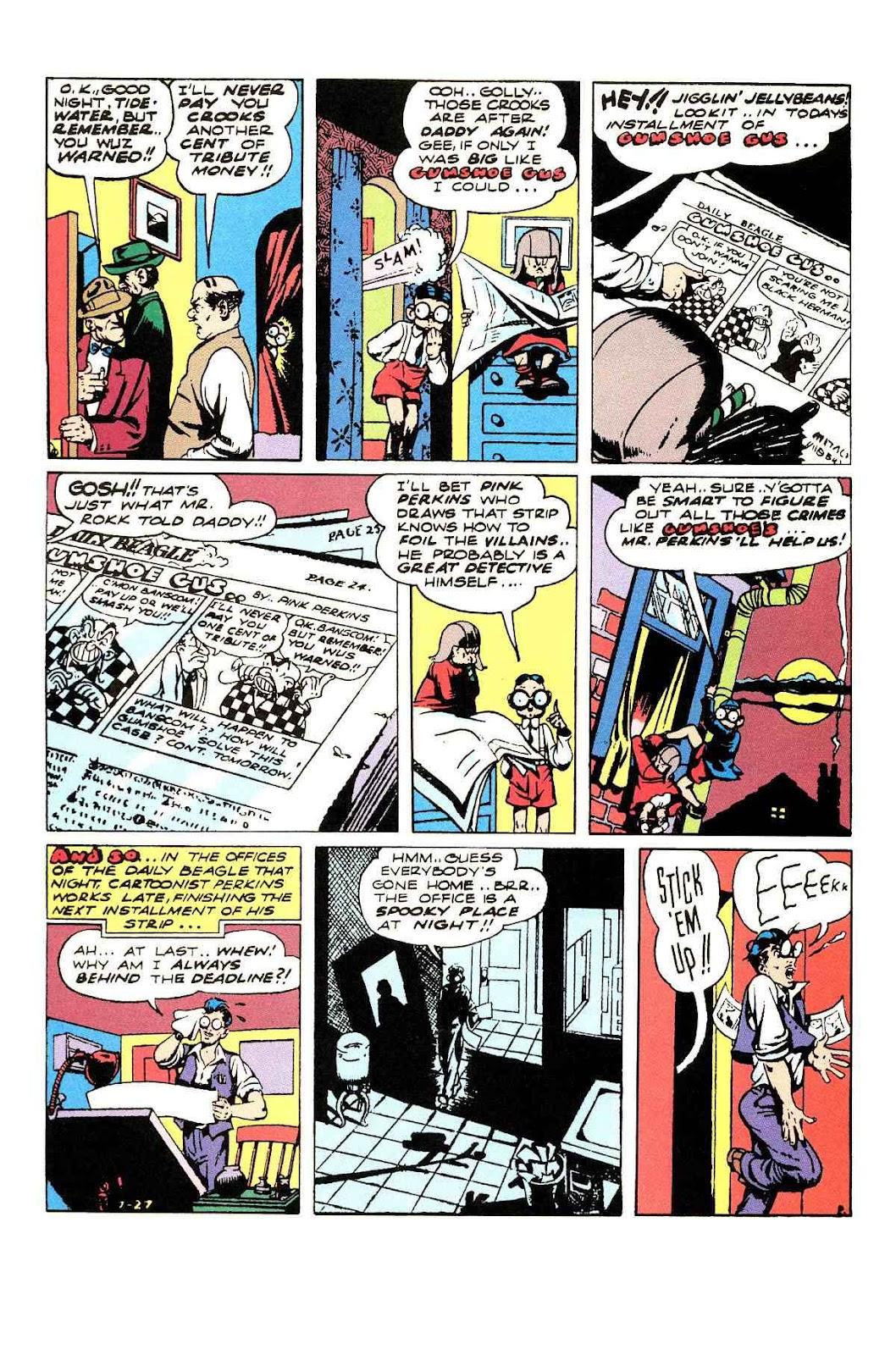 Read online Will Eisner's The Spirit Archives comic -  Issue # TPB 3 (Part 1) - 27