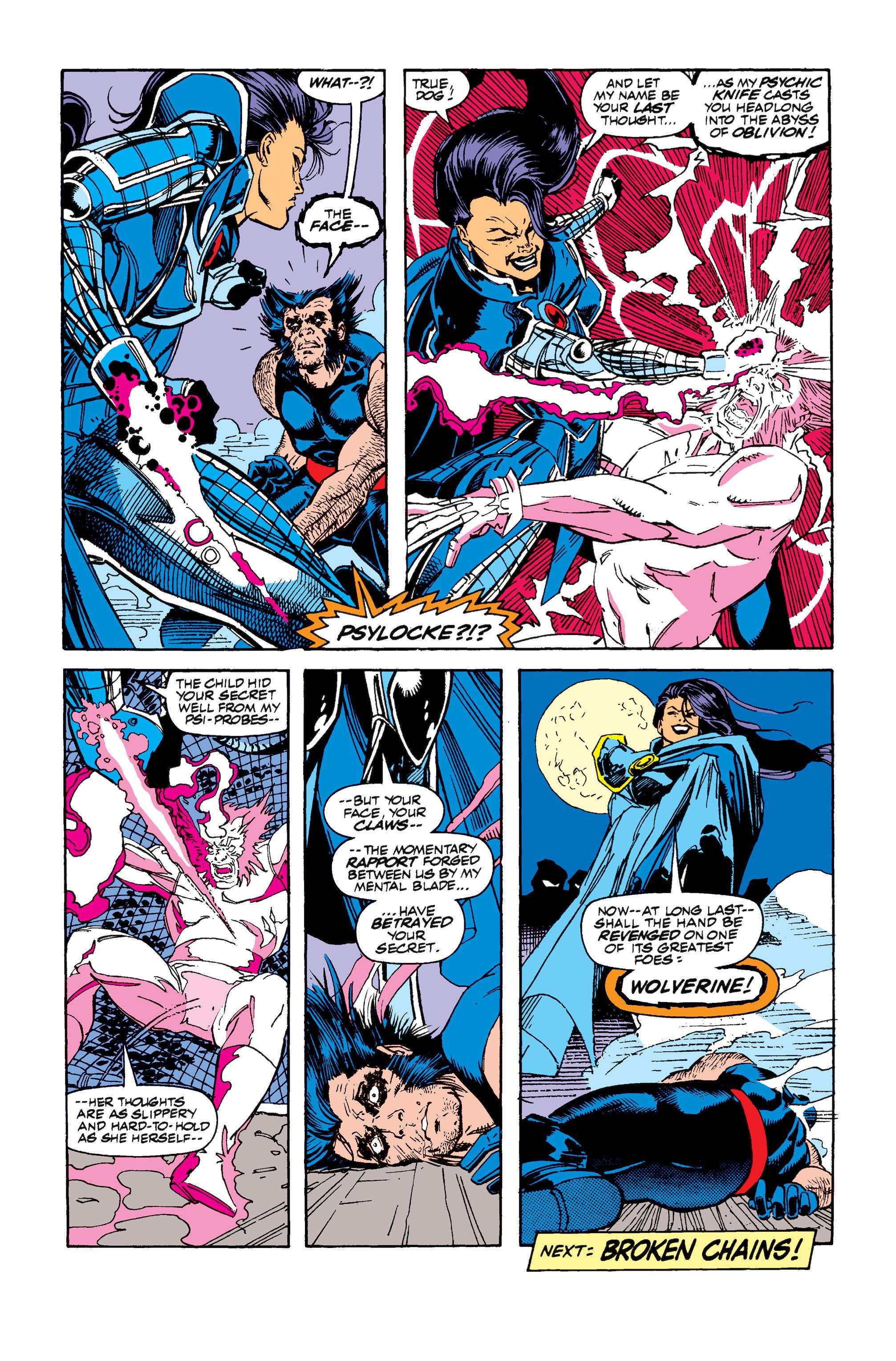 Read online Uncanny X-Men (1963) comic -  Issue #257 - 24