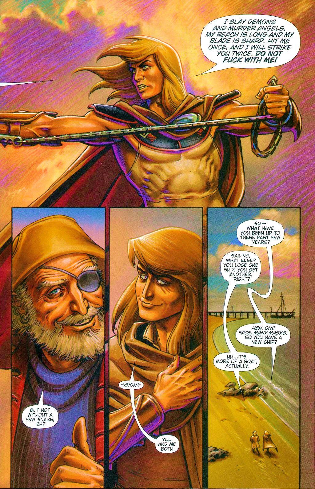 Read online Dawn: Three Tiers comic -  Issue #6 - 23