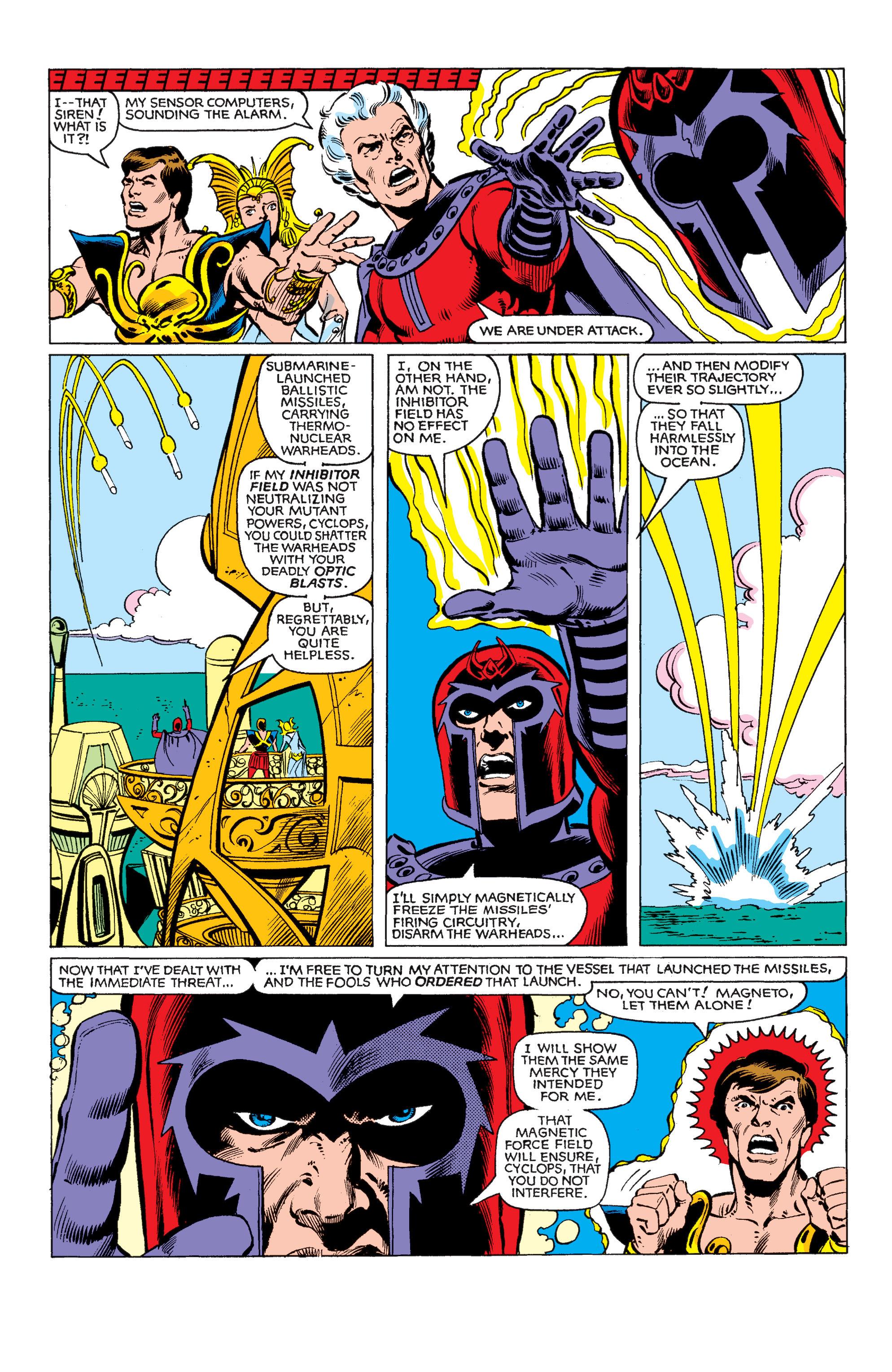 Read online Uncanny X-Men (1963) comic -  Issue #150 - 6
