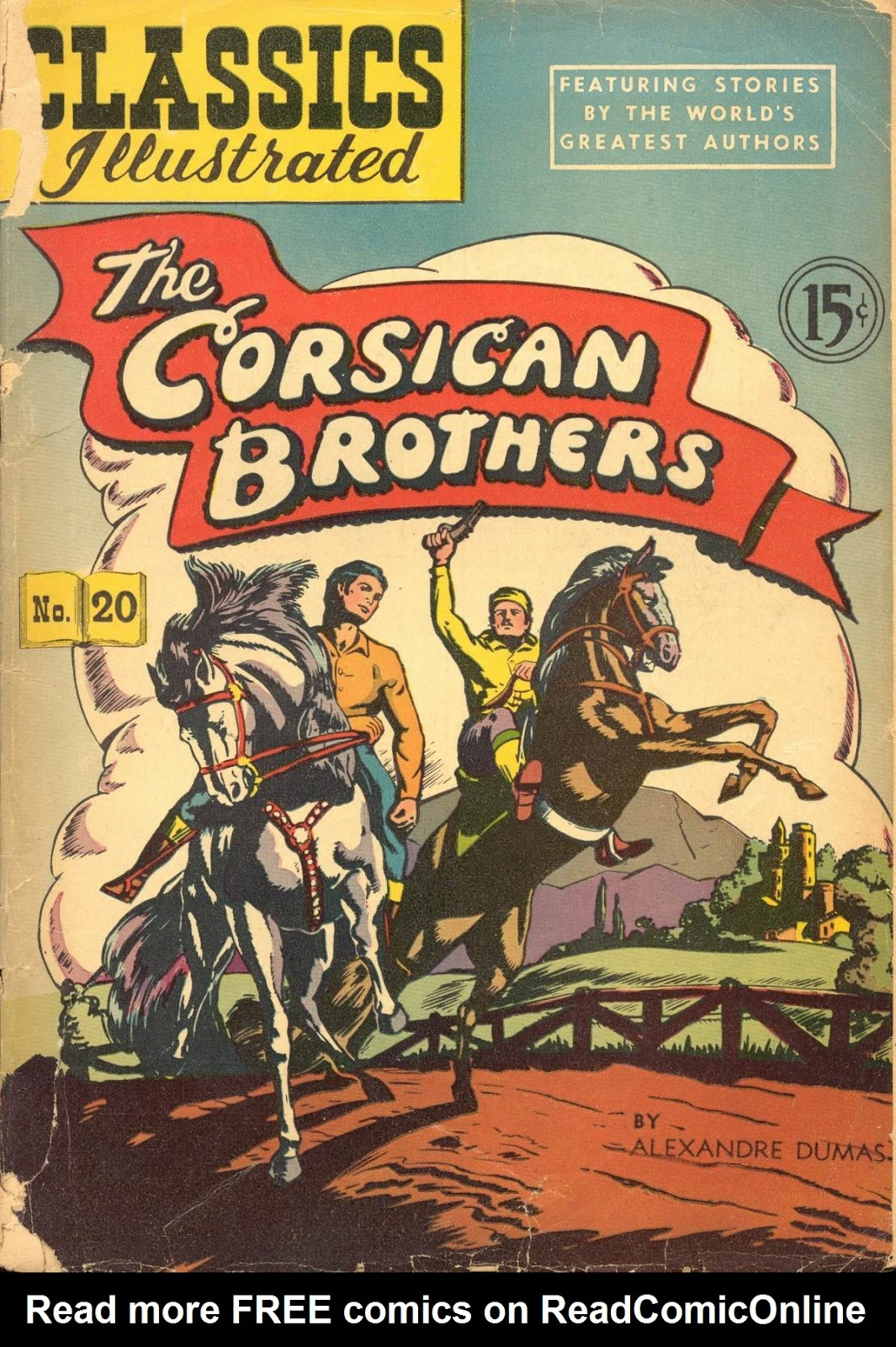 Classics Illustrated 20 Page 1