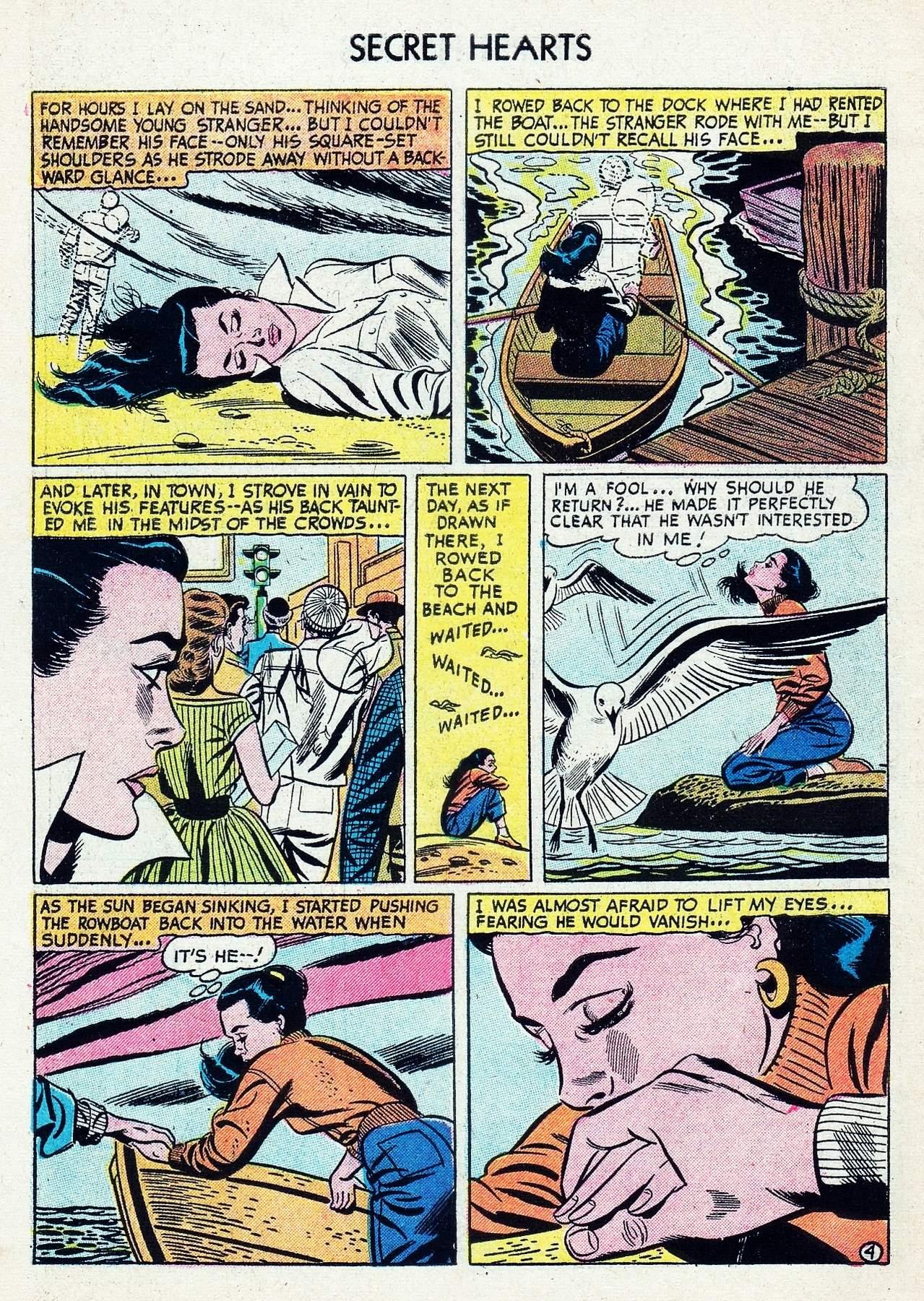 Read online Secret Hearts comic -  Issue #29 - 30