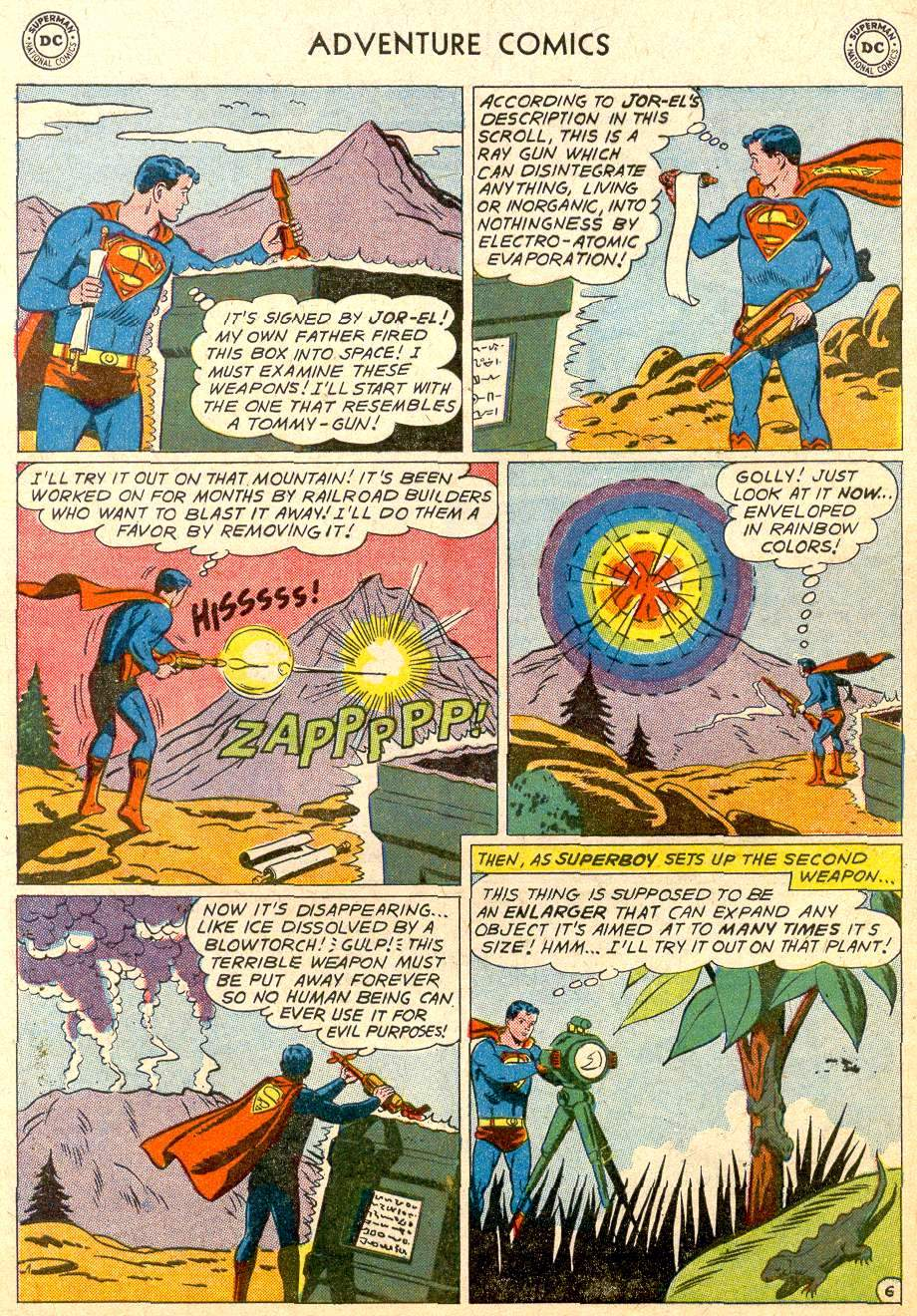 Read online Adventure Comics (1938) comic -  Issue #283 - 8