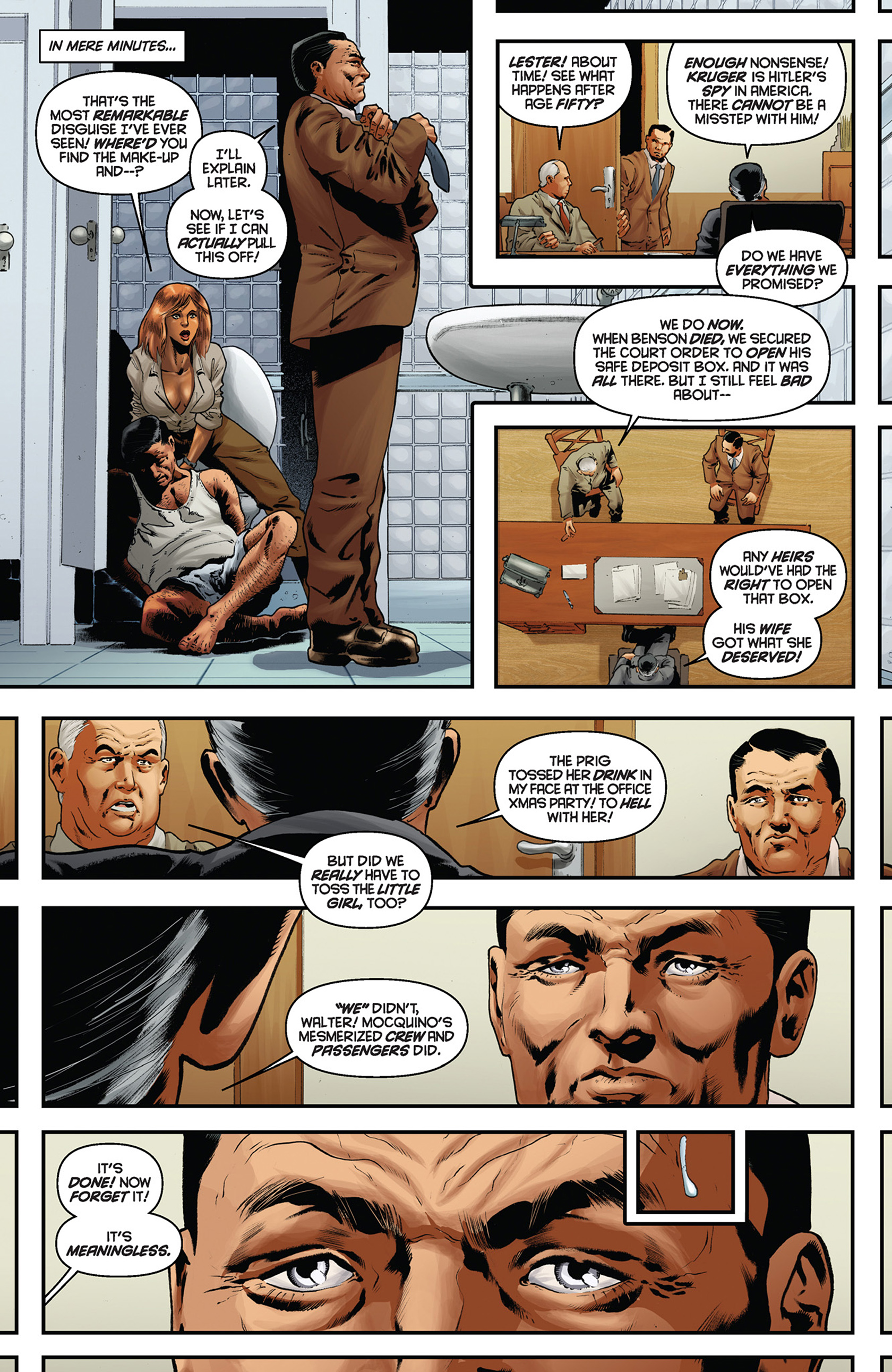 Read online Justice, Inc. comic -  Issue #5 - 13