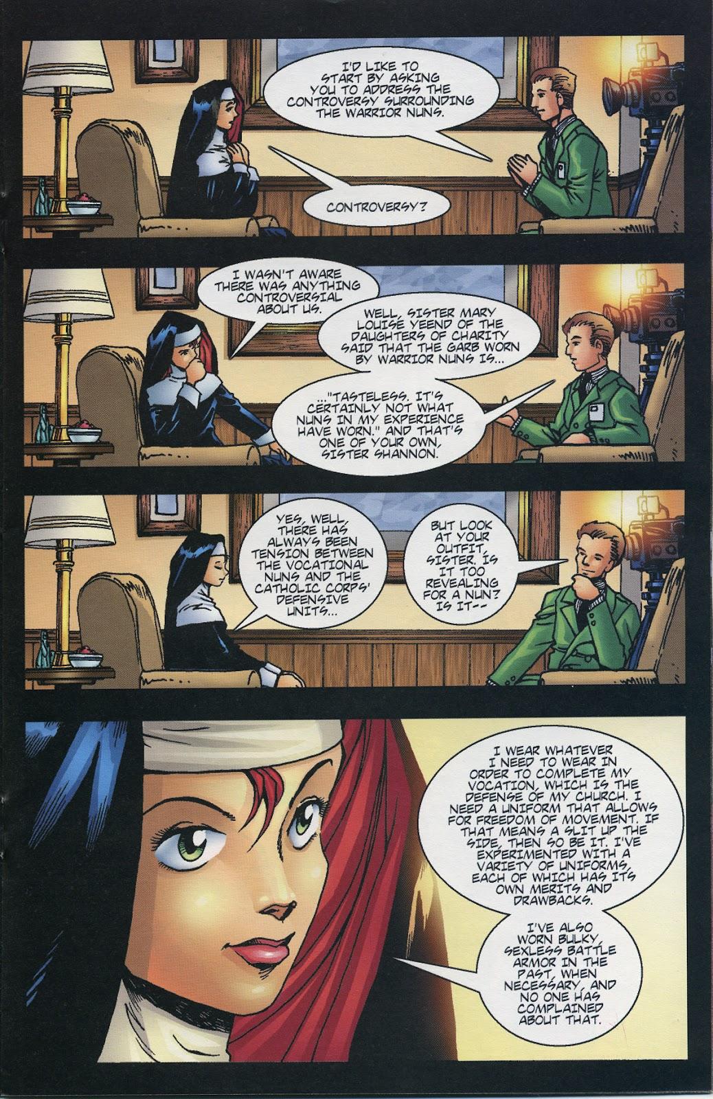 Warrior Nun Areala (1997) Issue #6 #6 - English 13