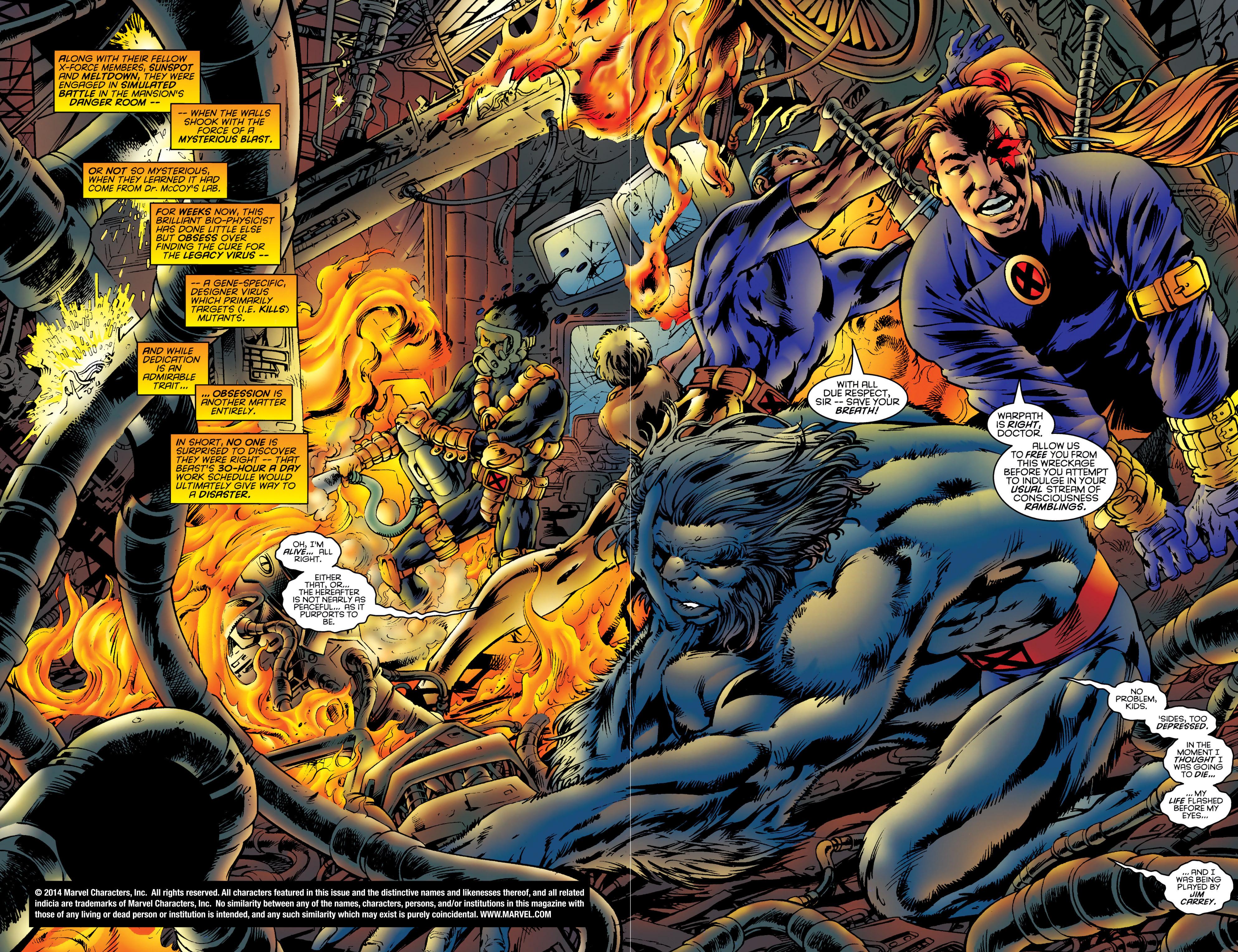 Read online Uncanny X-Men (1963) comic -  Issue #331 - 3