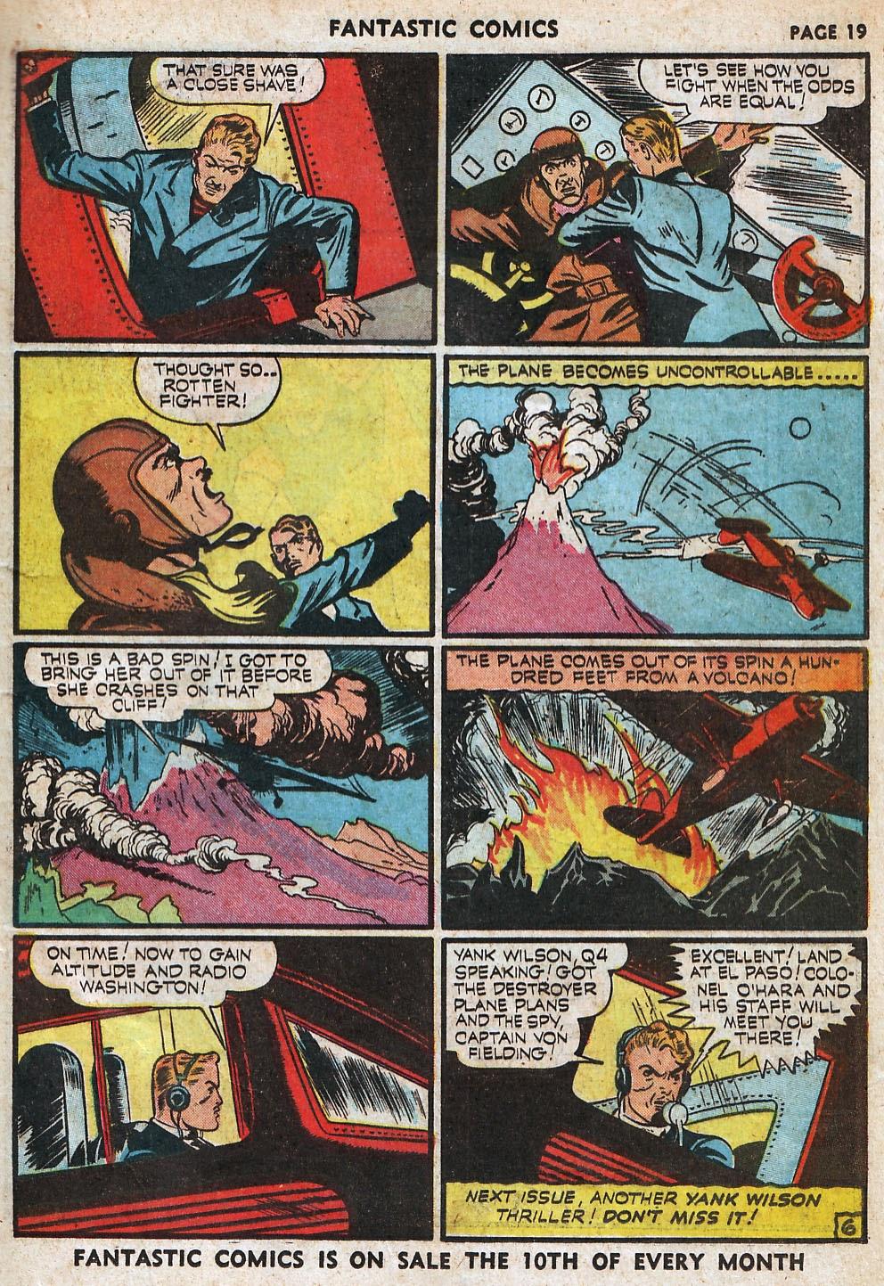 Read online Fantastic Comics comic -  Issue #18 - 21