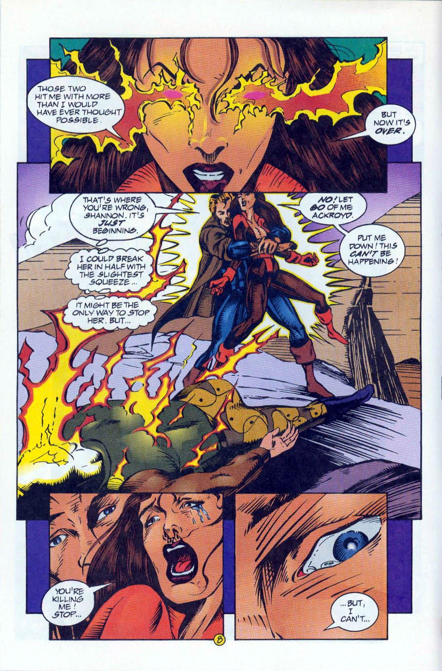 Read online Ex-Mutants comic -  Issue #16 - 8