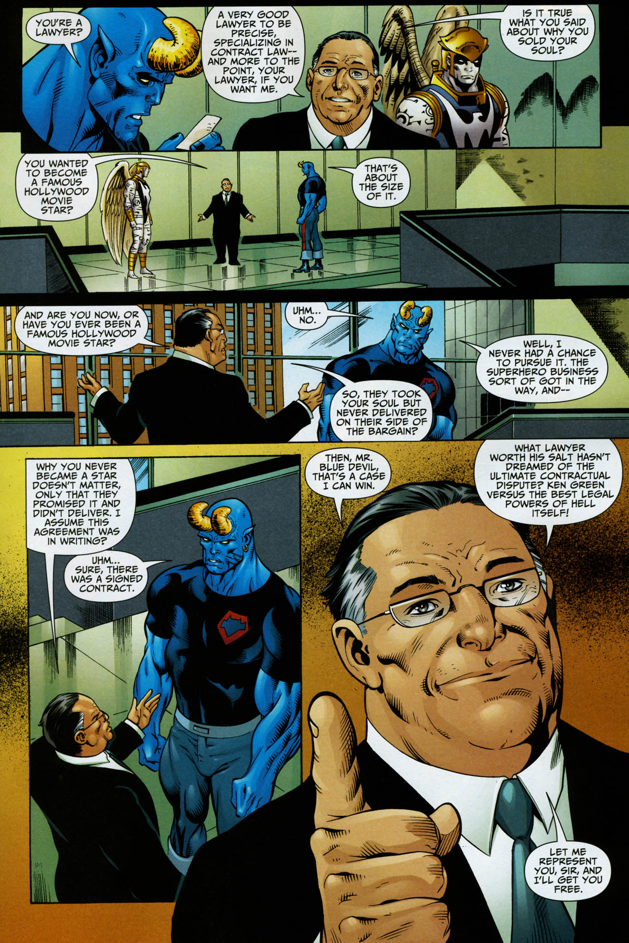 Read online Shadowpact comic -  Issue #14 - 16