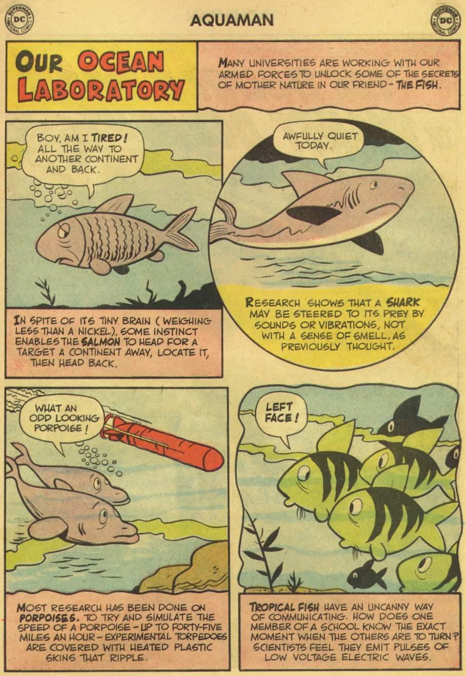 Read online Aquaman (1962) comic -  Issue #8 - 11