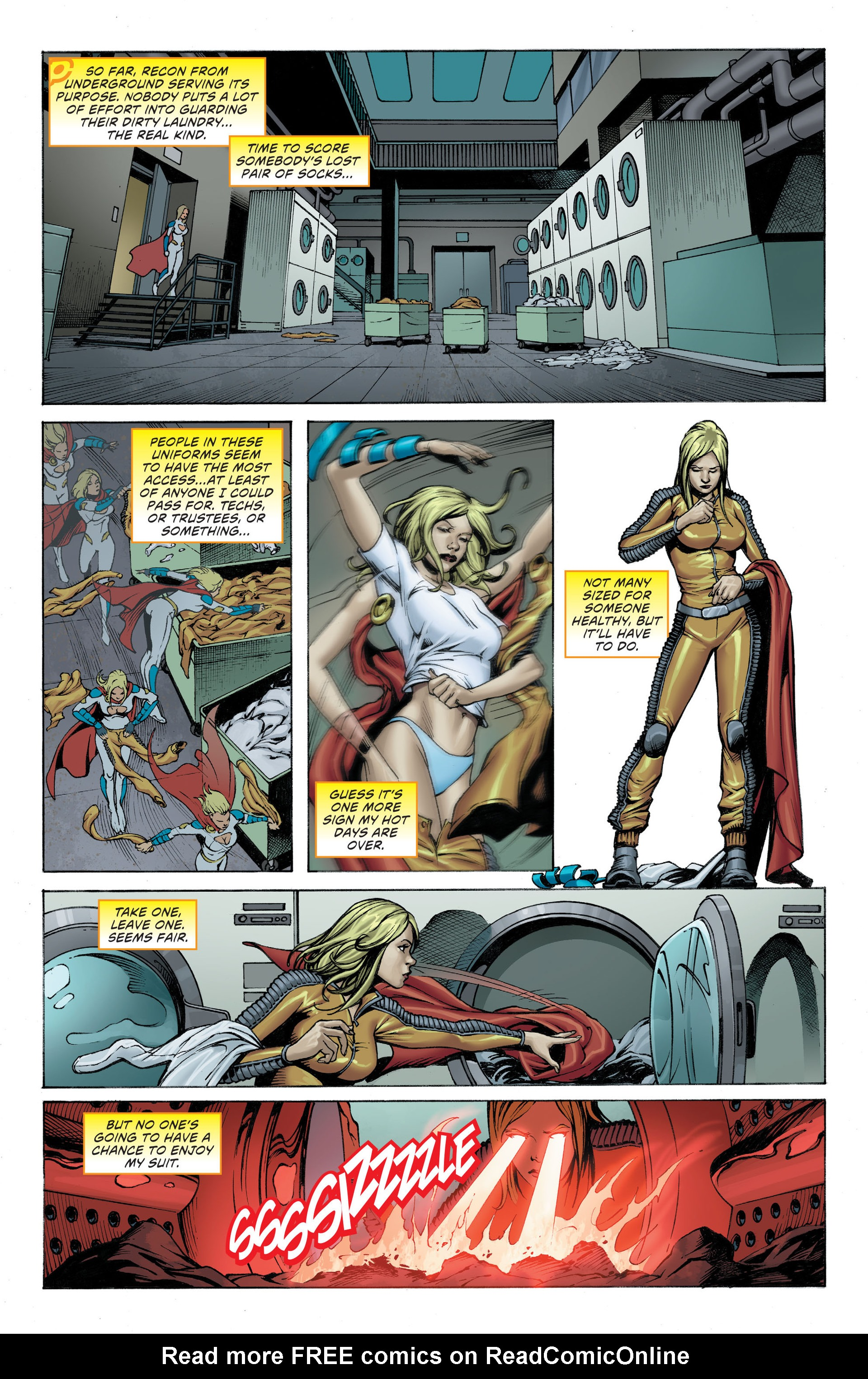 Read online Worlds' Finest: Futures End comic -  Issue # Full - 5