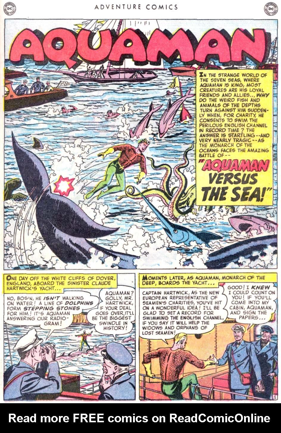 Read online Adventure Comics (1938) comic -  Issue #156 - 25