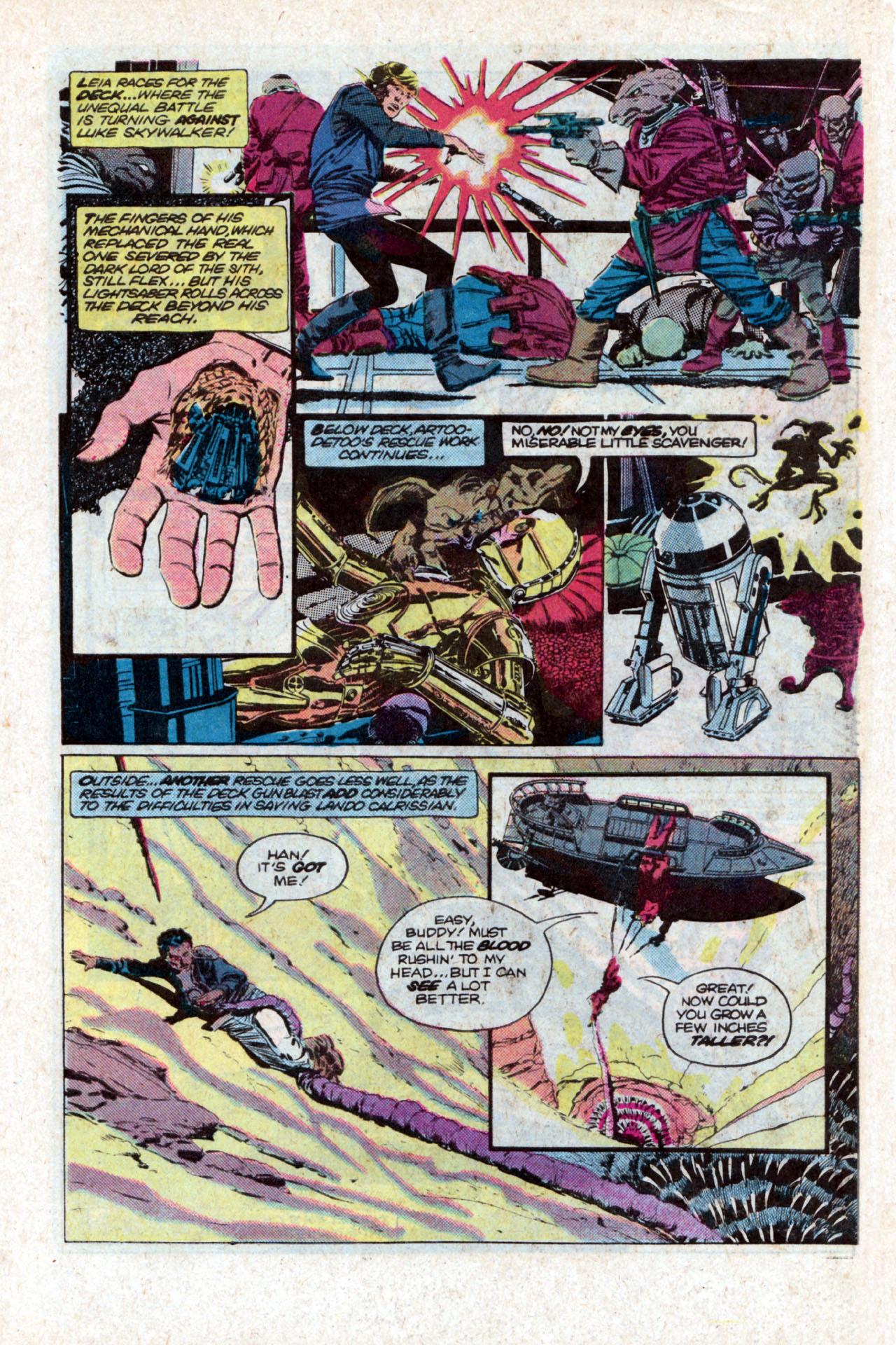 Read online Star Wars: Return of the Jedi comic -  Issue #2 - 11