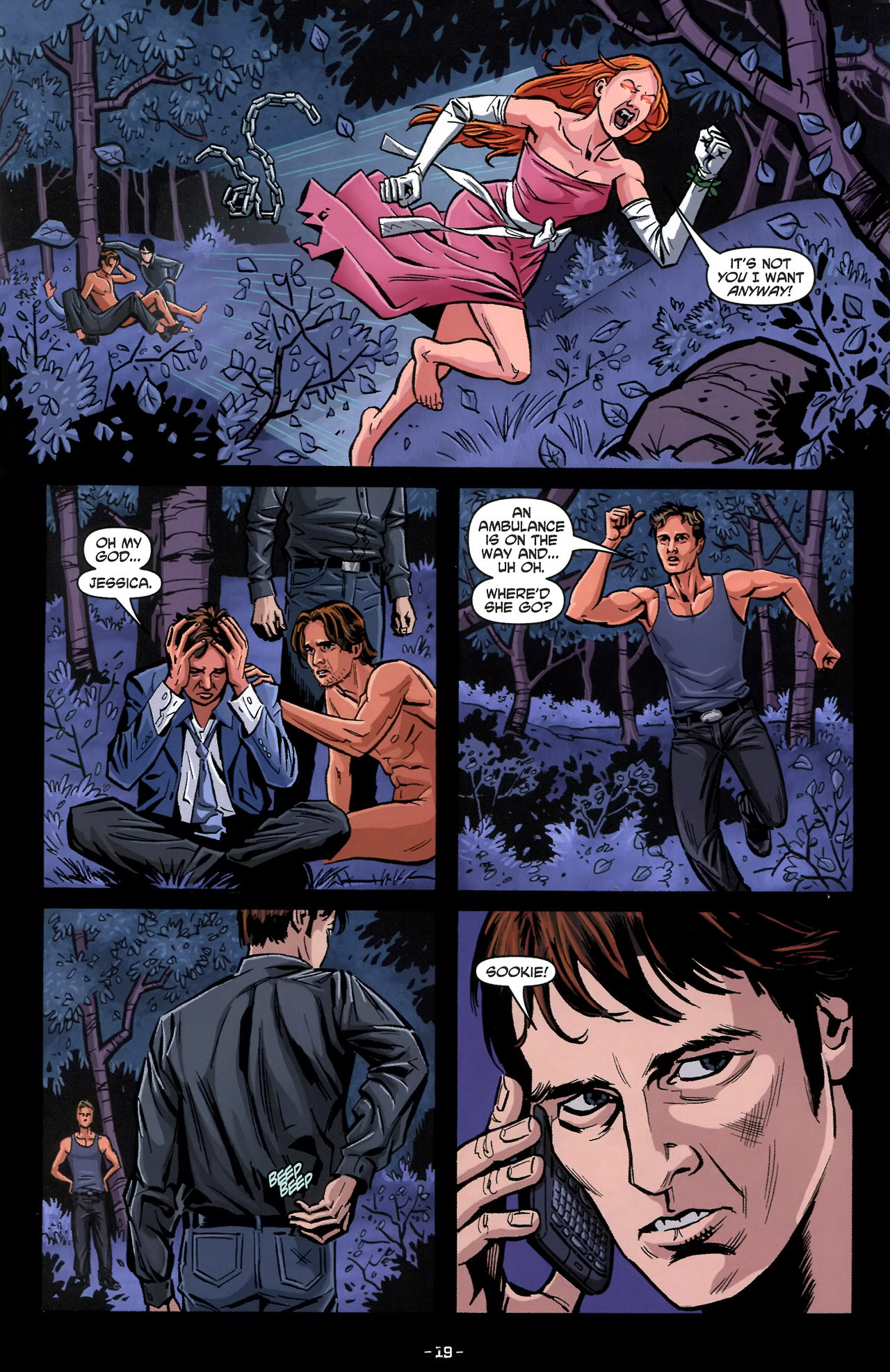 Read online True Blood: Tainted Love comic -  Issue #3 - 22