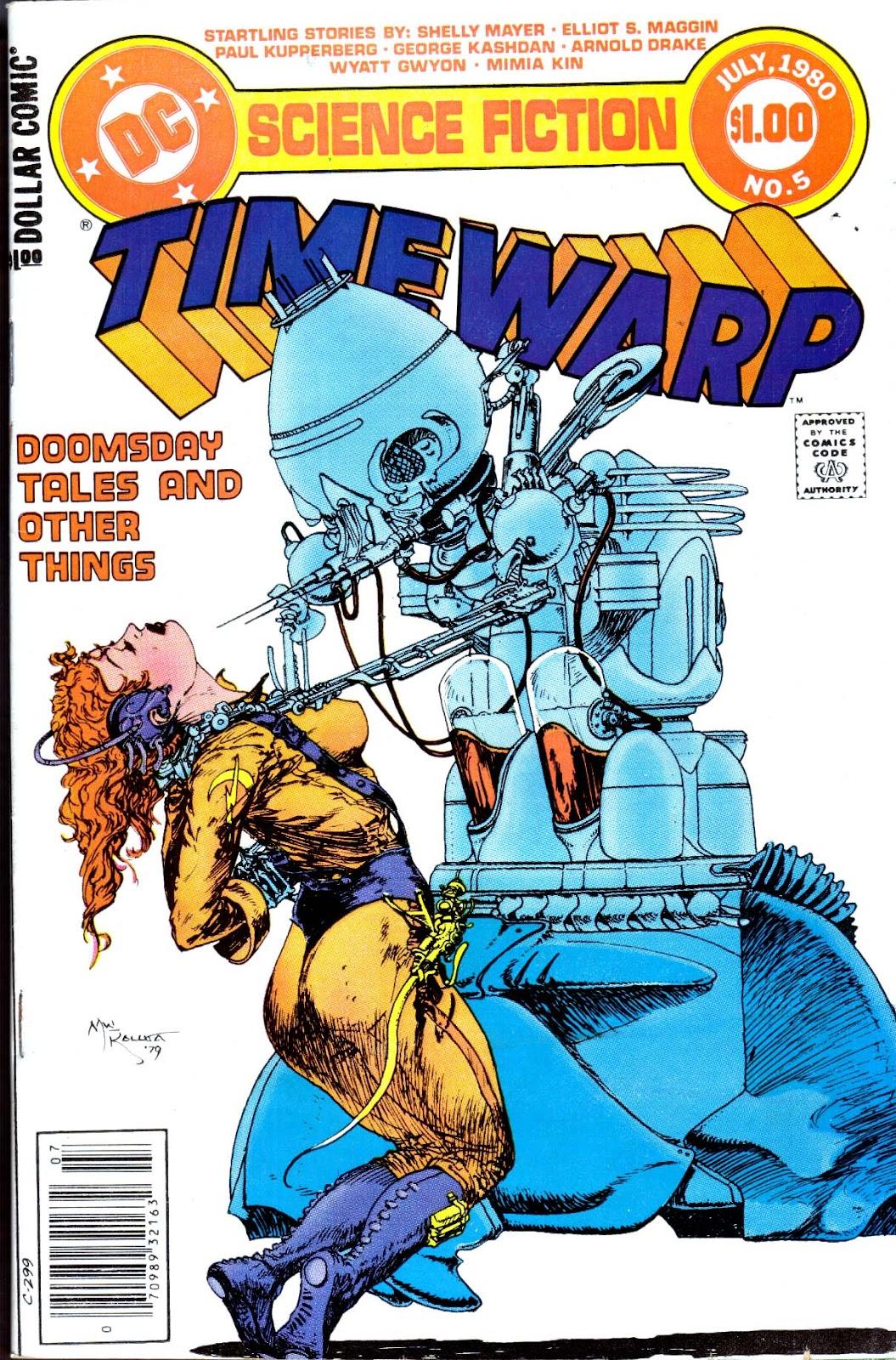 Time Warp (1979) 5 Page 1