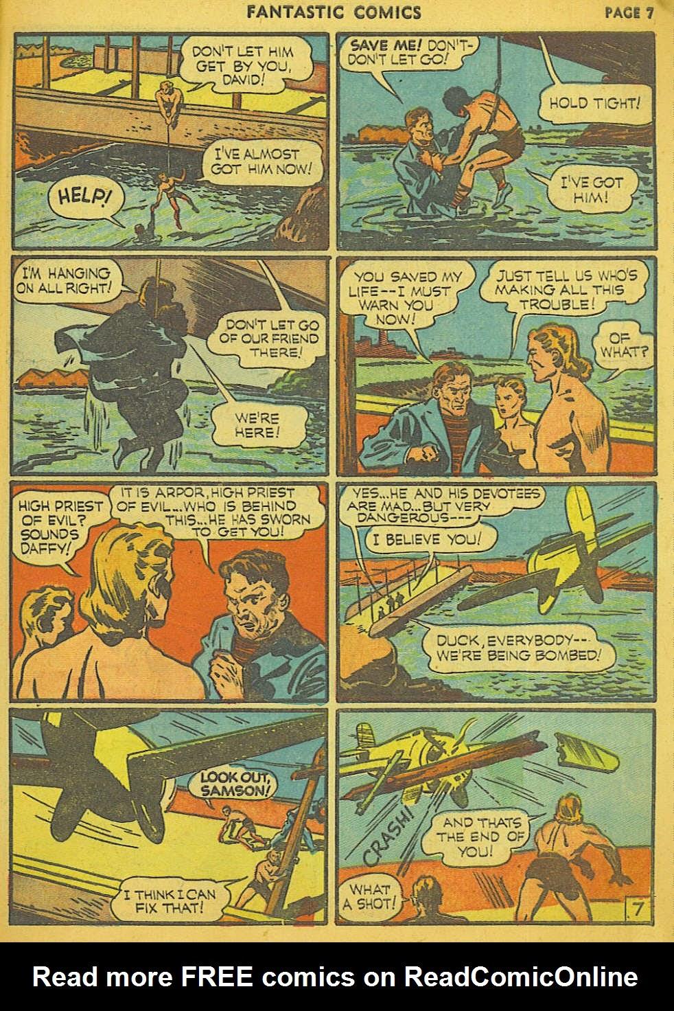 Read online Fantastic Comics comic -  Issue #15 - 60