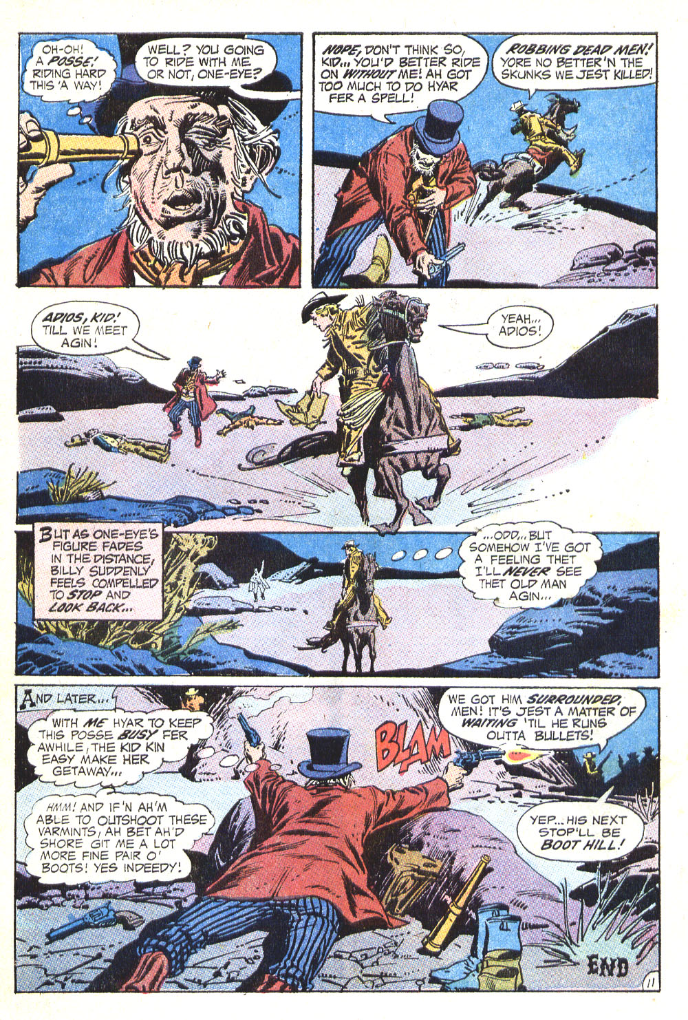 Read online All-Star Western (1970) comic -  Issue #8 - 14