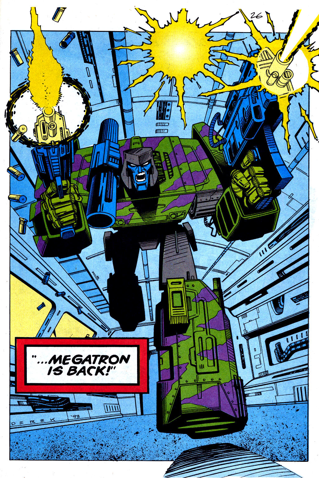 Read online Transformers: Generation 2 comic -  Issue #1 - 25