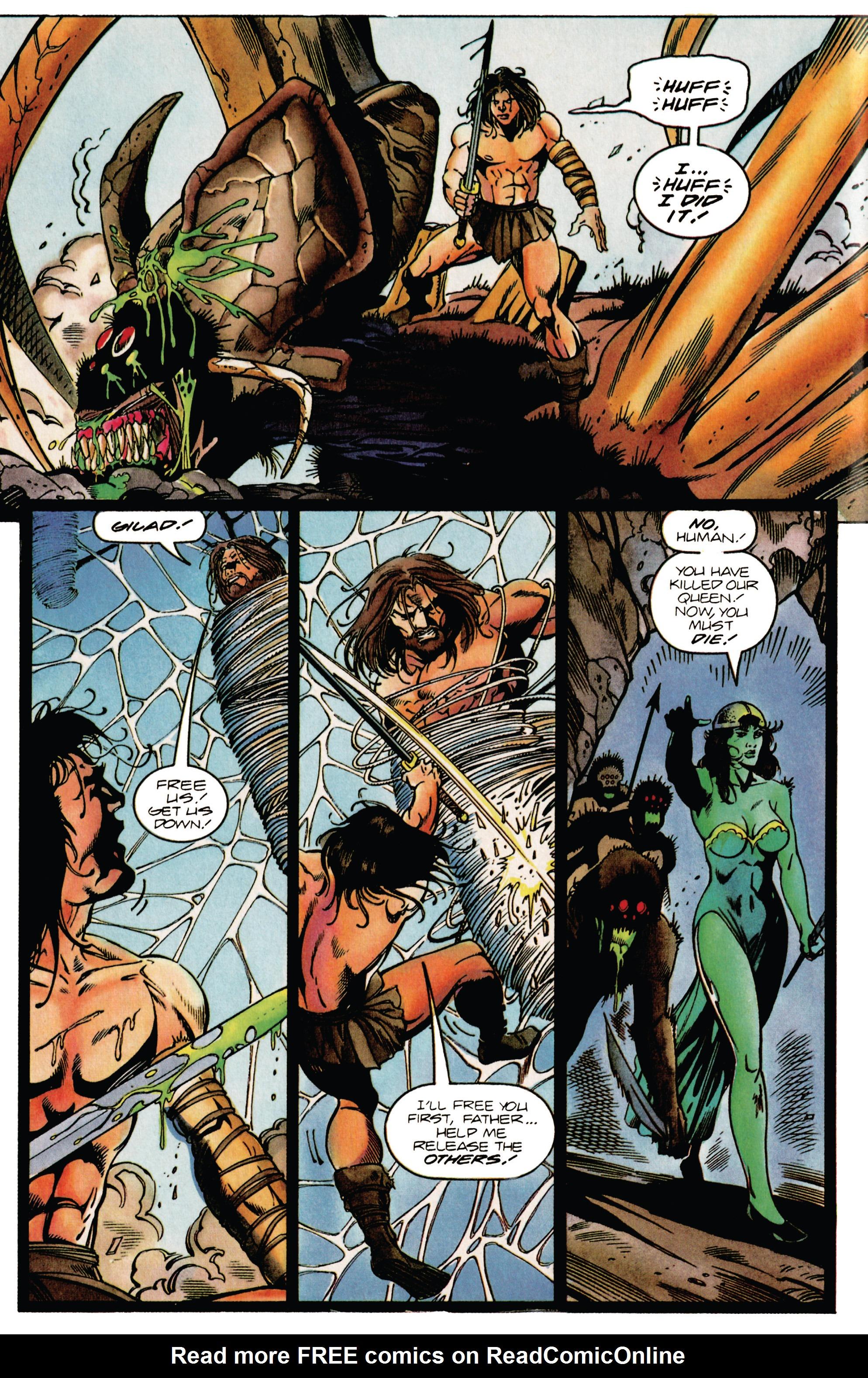 Read online Eternal Warrior (1992) comic -  Issue #38 - 16